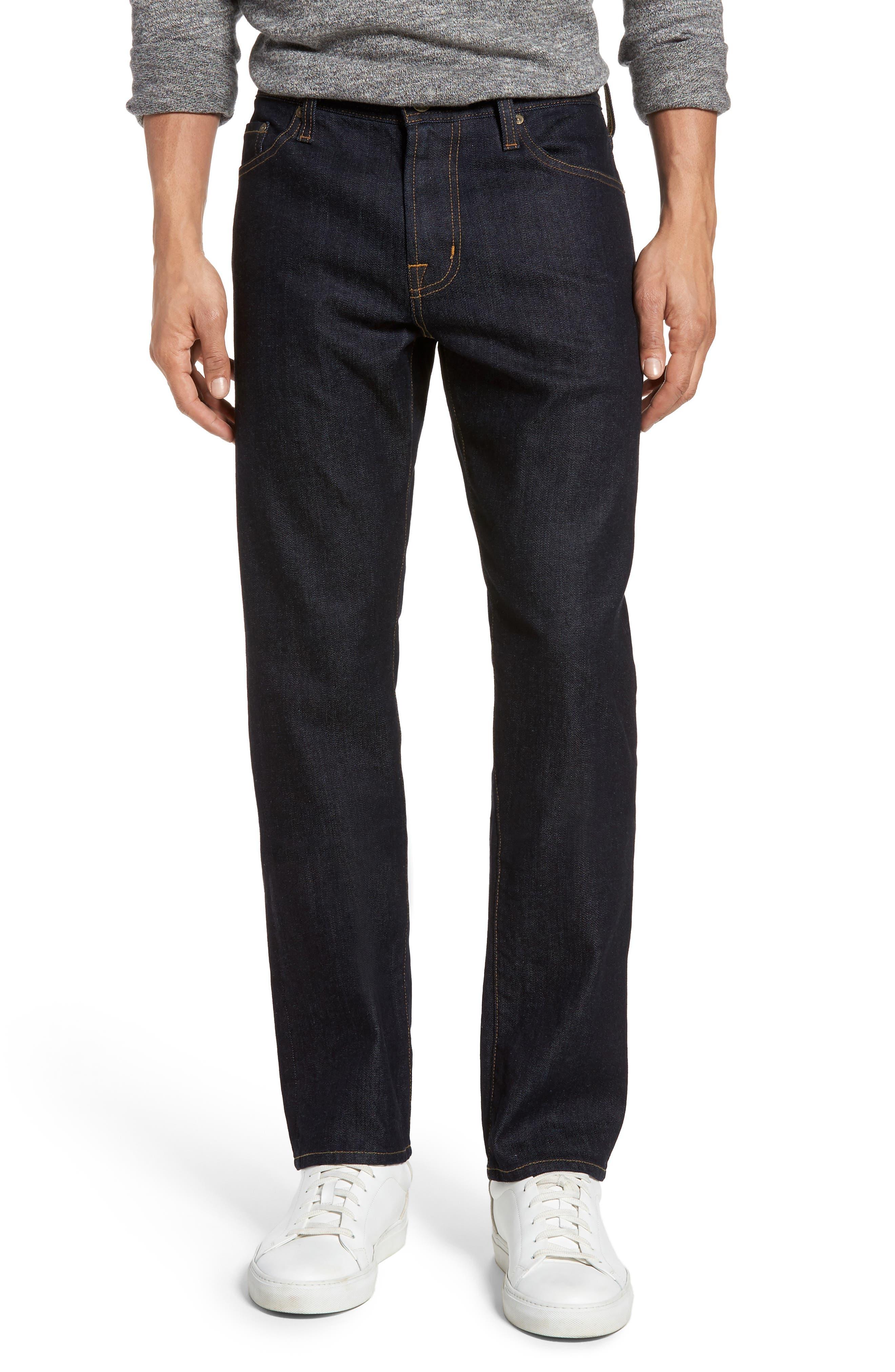 Everett Slim Straight Leg Jeans,                         Main,                         color, HIGHWAY
