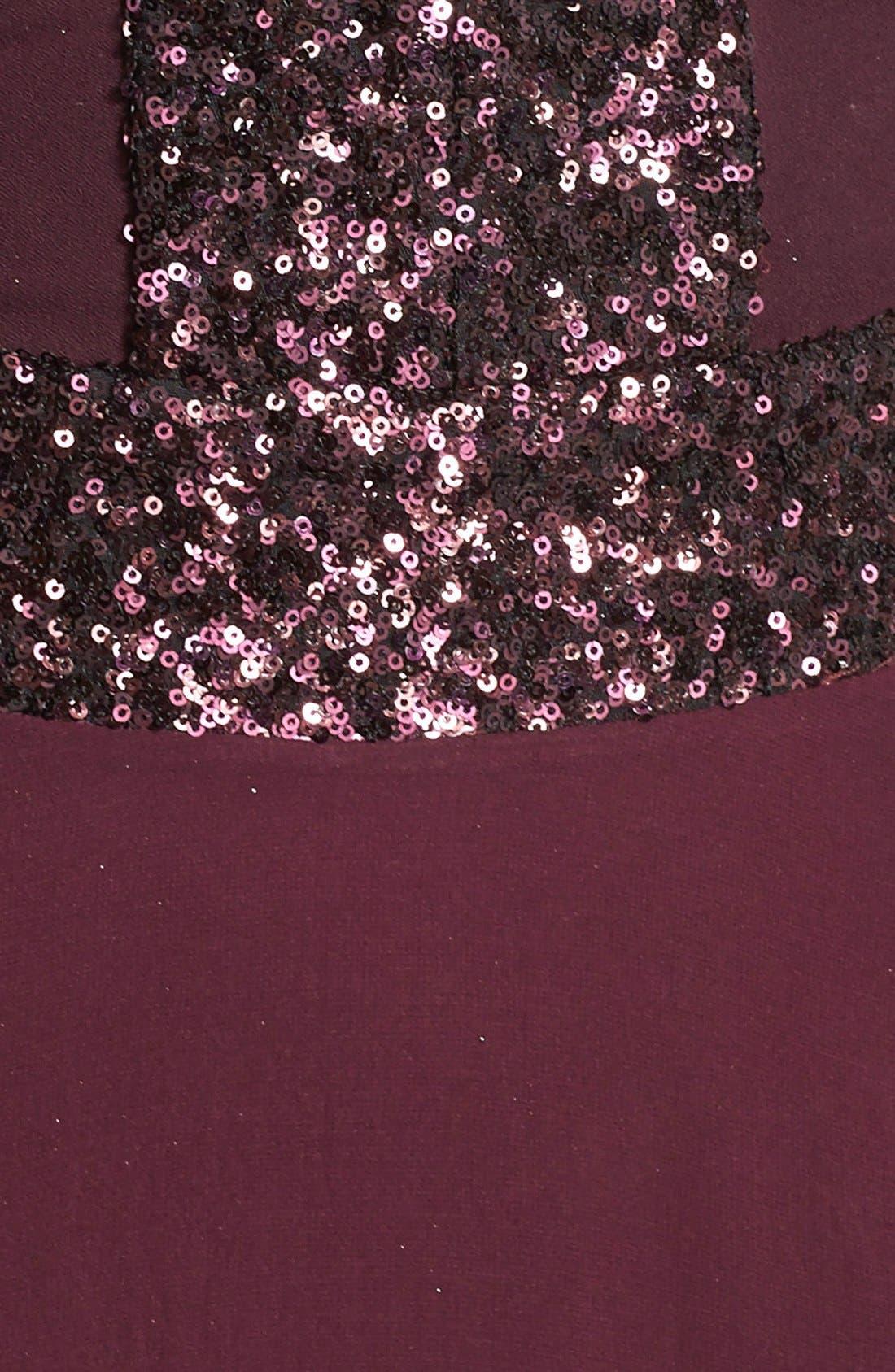 Delani Crepe Gown,                             Alternate thumbnail 21, color,