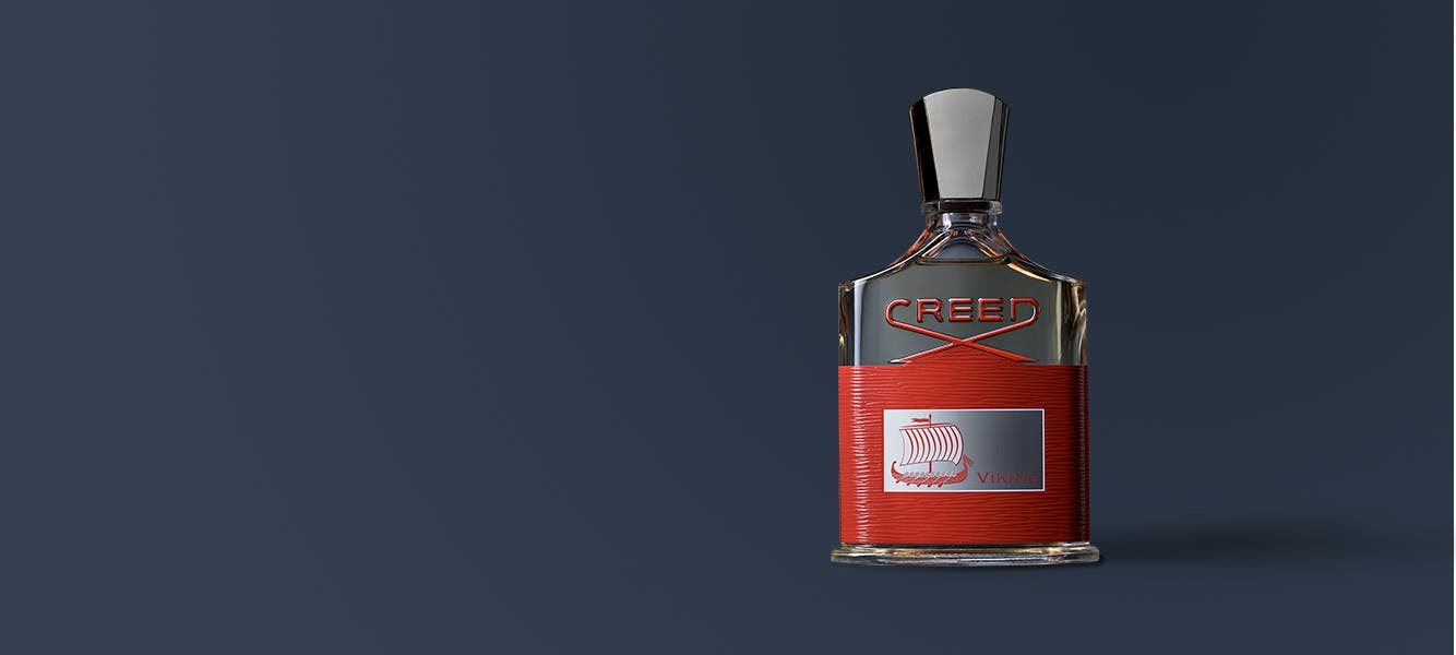 Creed Viking, a fiery new fragrance that captures the spirit of boundless exploration.