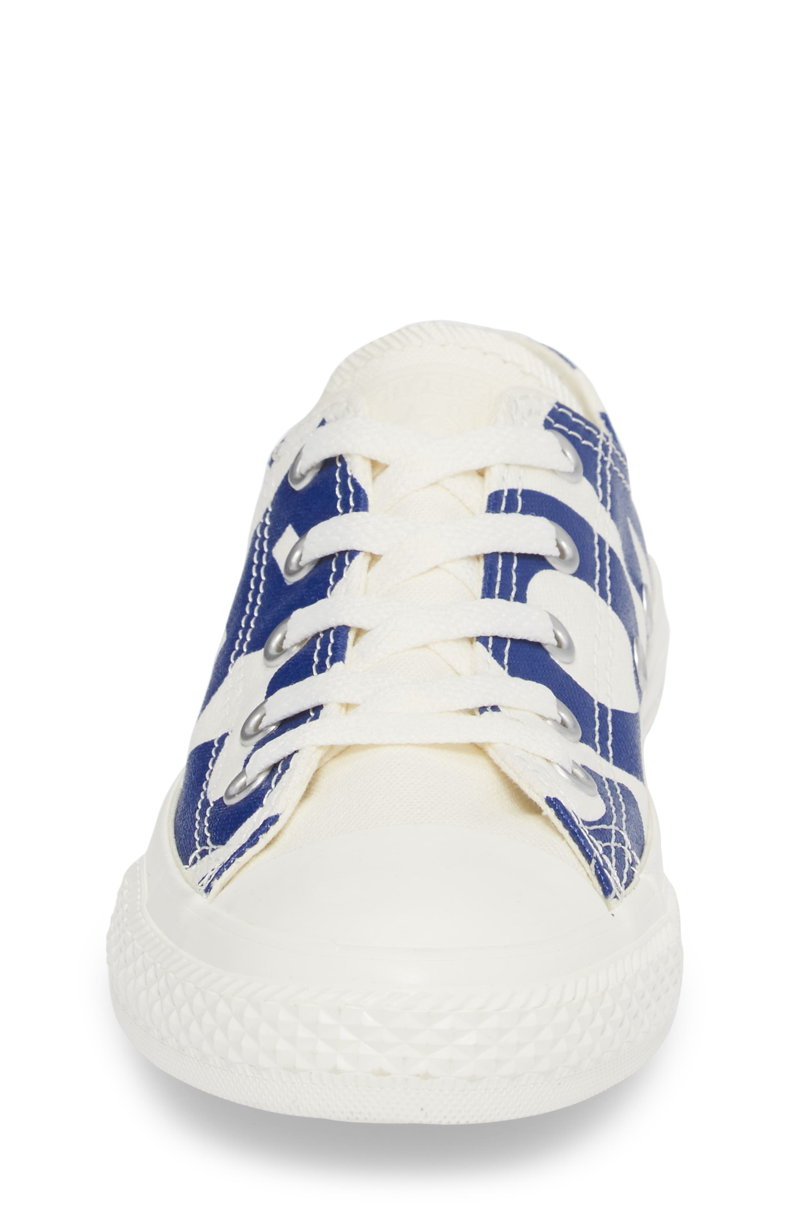 All Star<sup>®</sup> Wordmark OX Low Top Sneaker,                             Alternate thumbnail 4, color,                             400