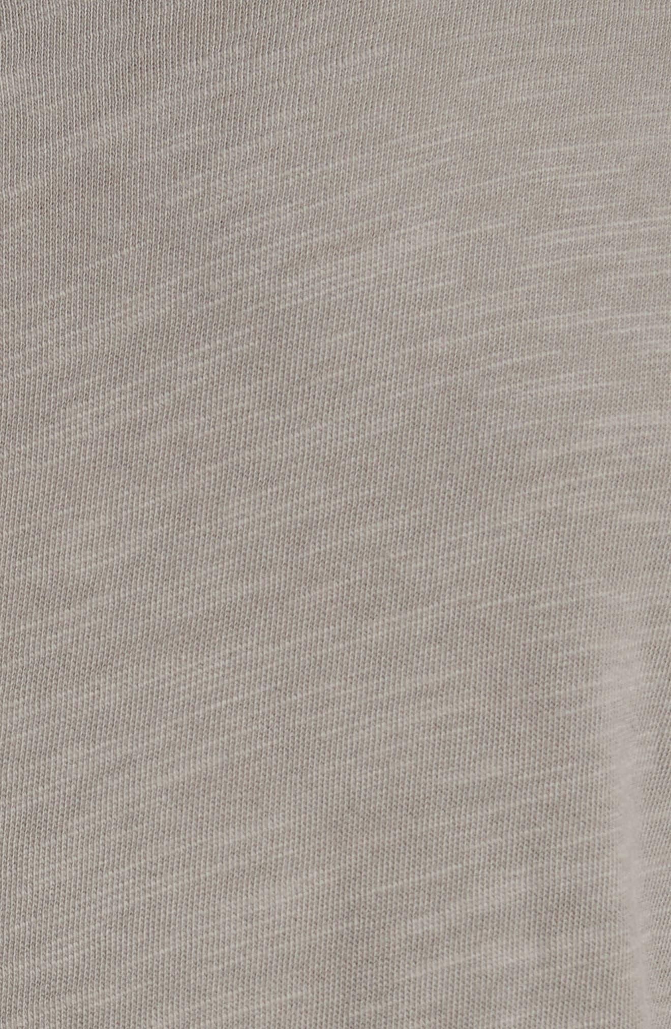 Standard Issue Slubbed Cotton T-Shirt,                             Alternate thumbnail 5, color,                             010
