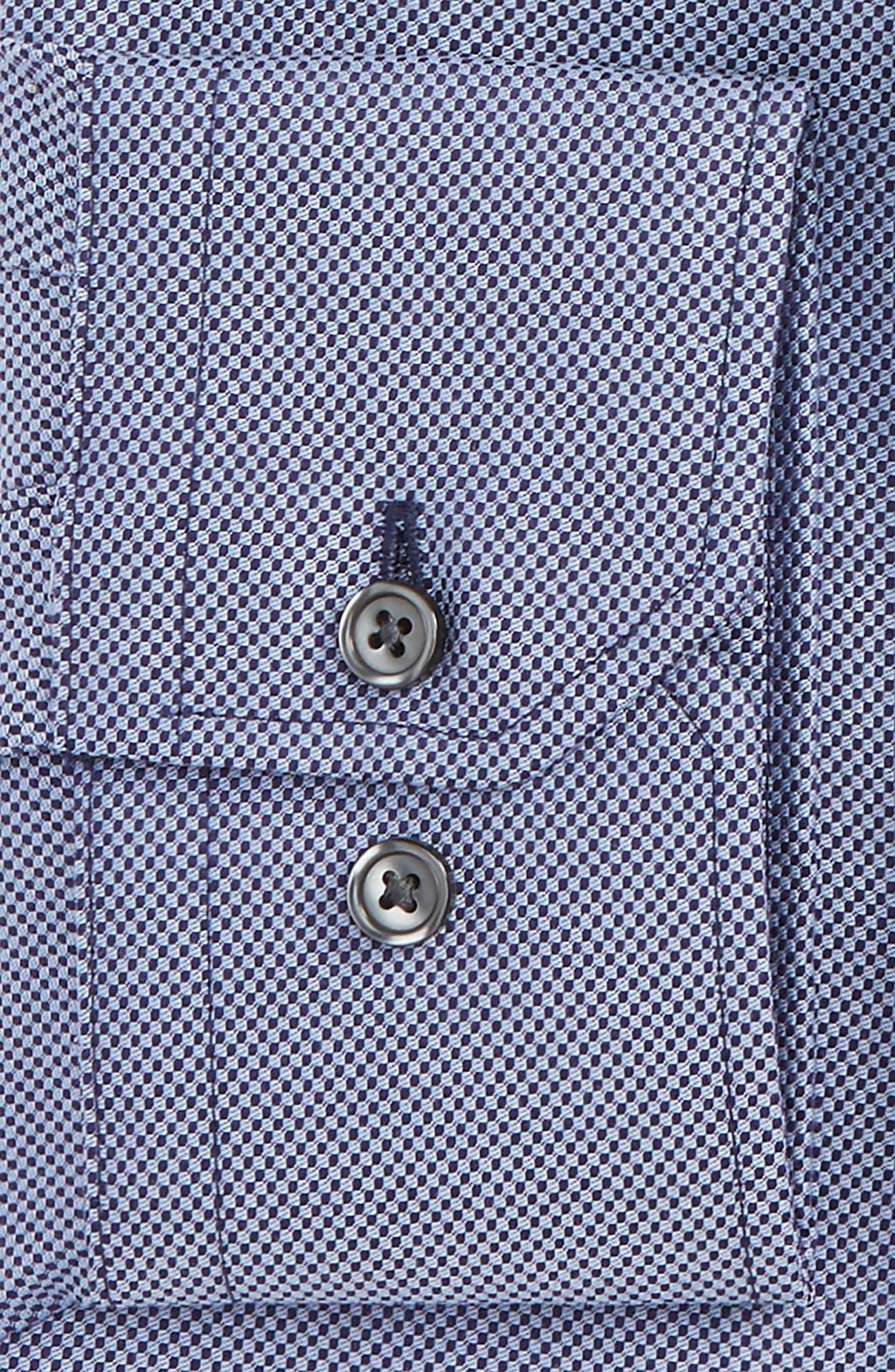 Trim Fit Dress Shirt,                             Alternate thumbnail 2, color,                             420