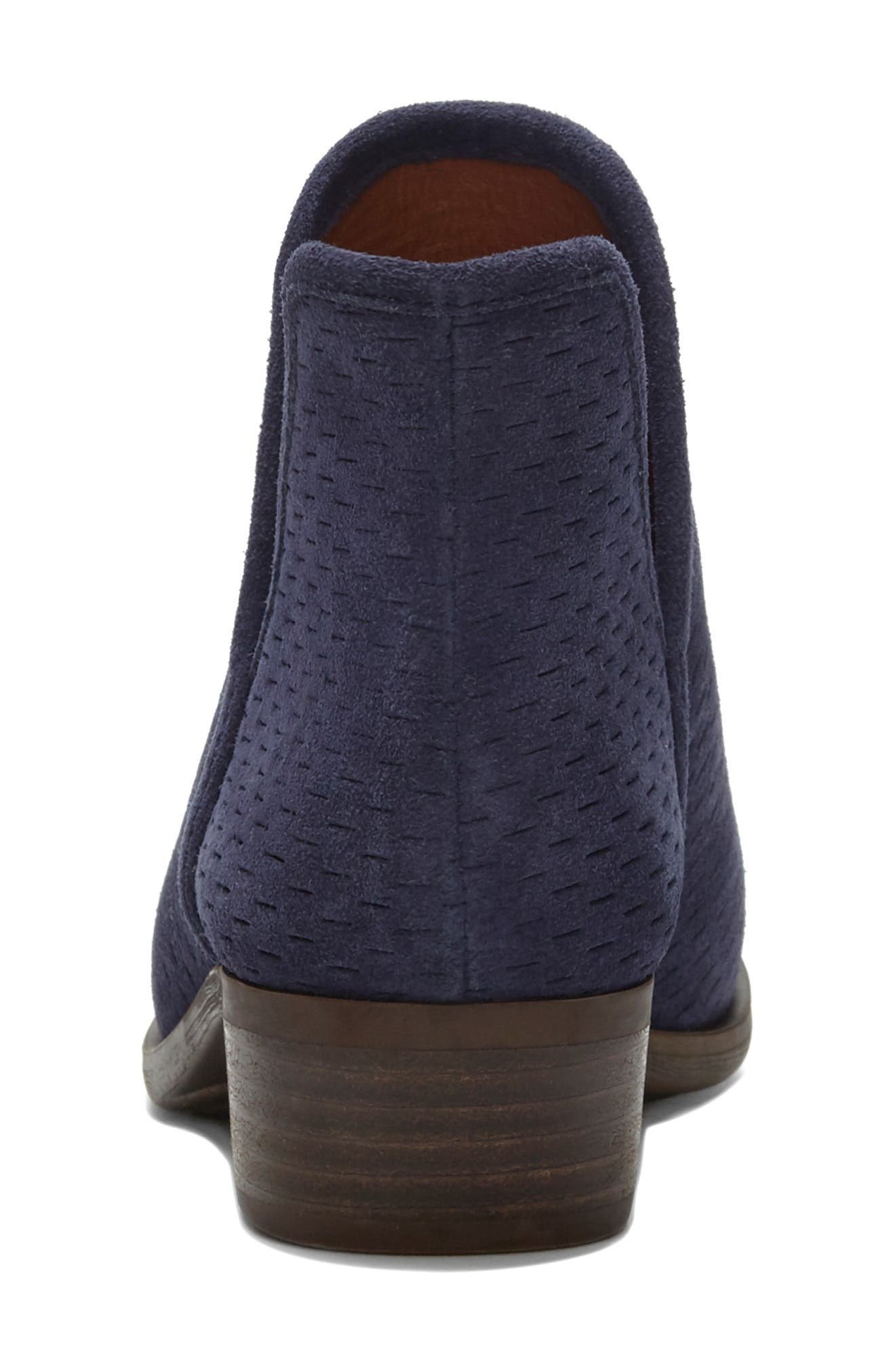 Baley Bootie,                             Alternate thumbnail 5, color,                             MOROCCAN BLUE SUEDE