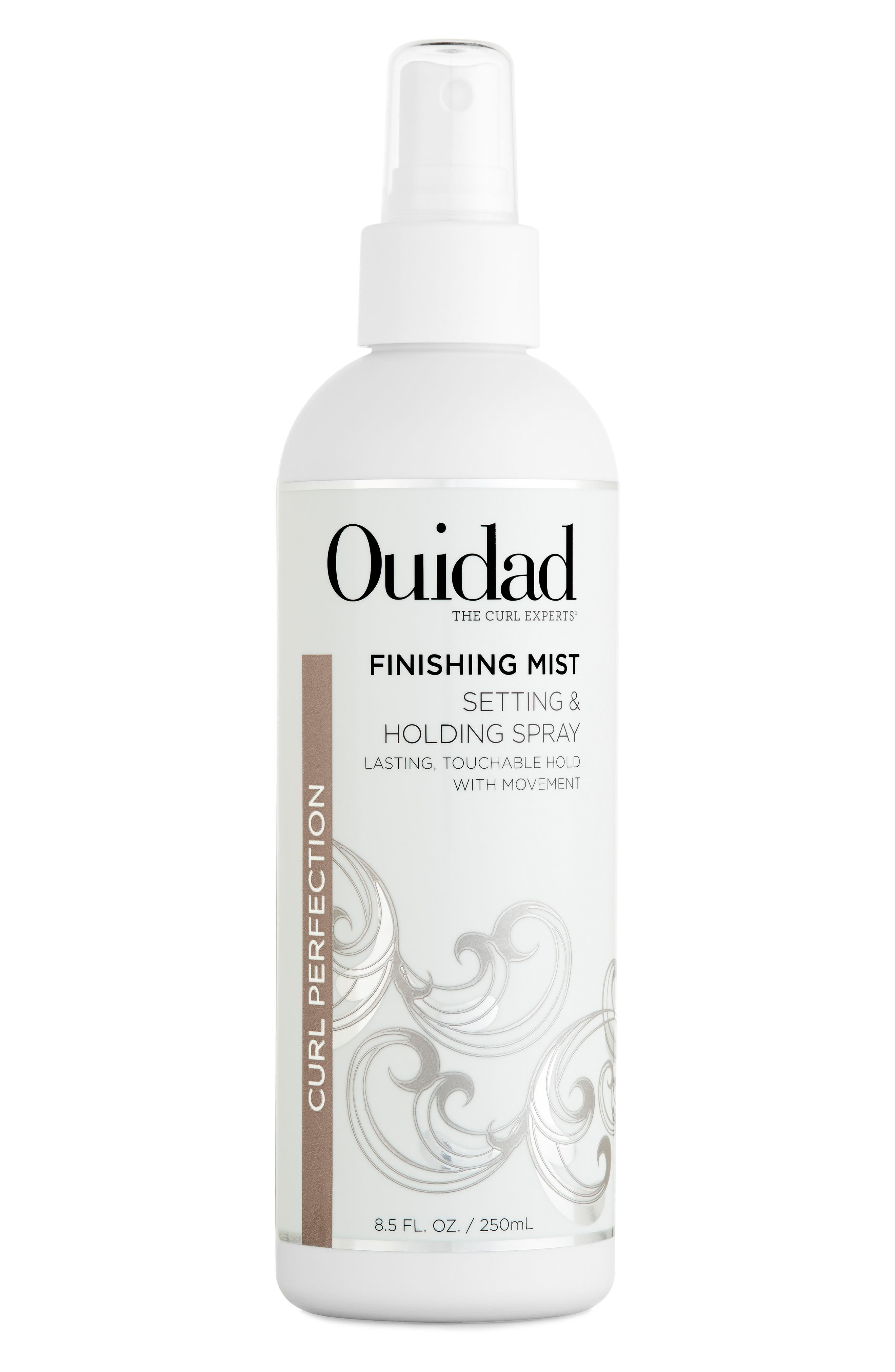 OUIDAD,                             Finishing Mist Setting & Holding Spray,                             Main thumbnail 1, color,                             000