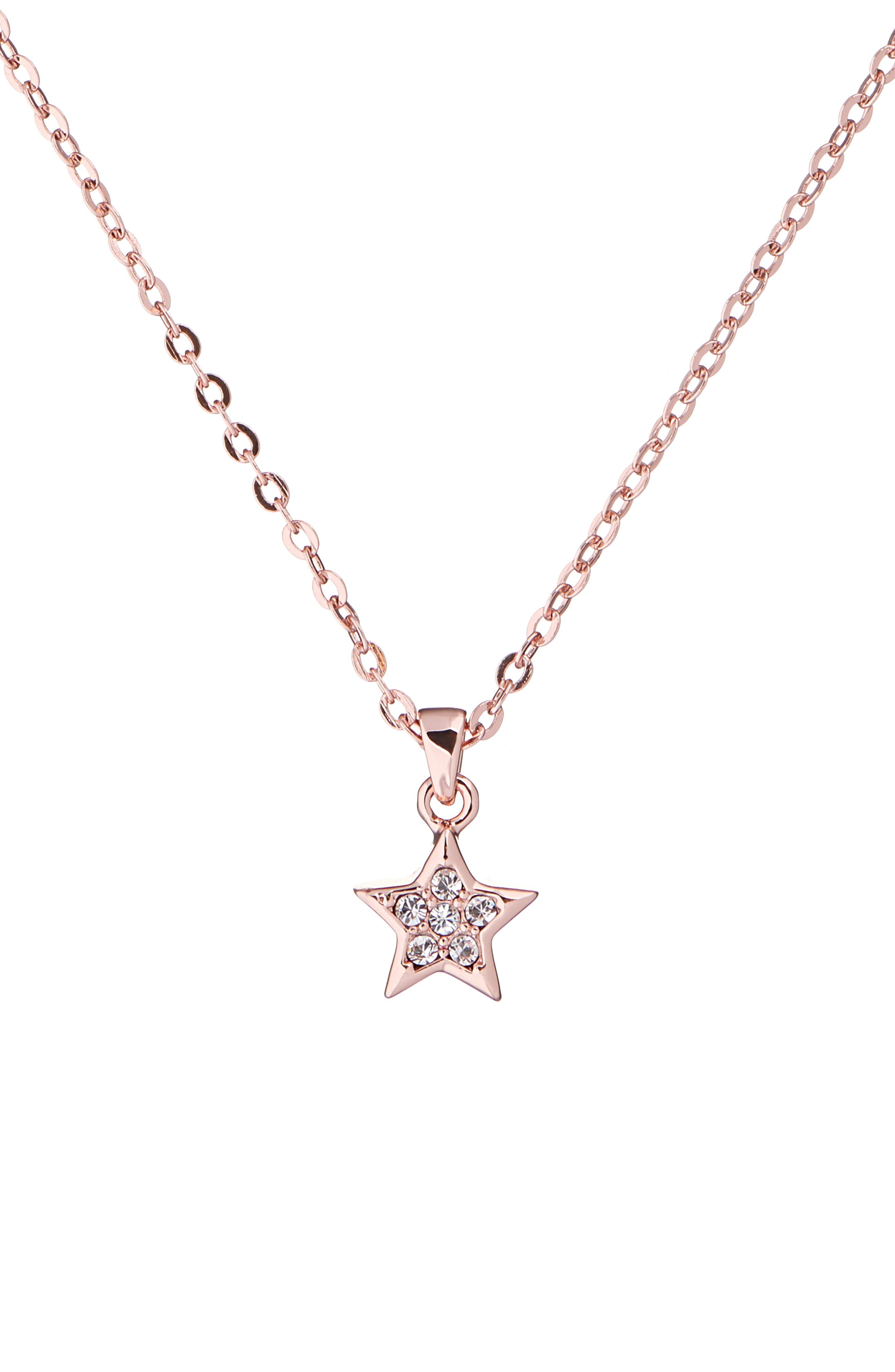 Ted Baker London Sigi Shooting Star Crystal Pendant Necklace