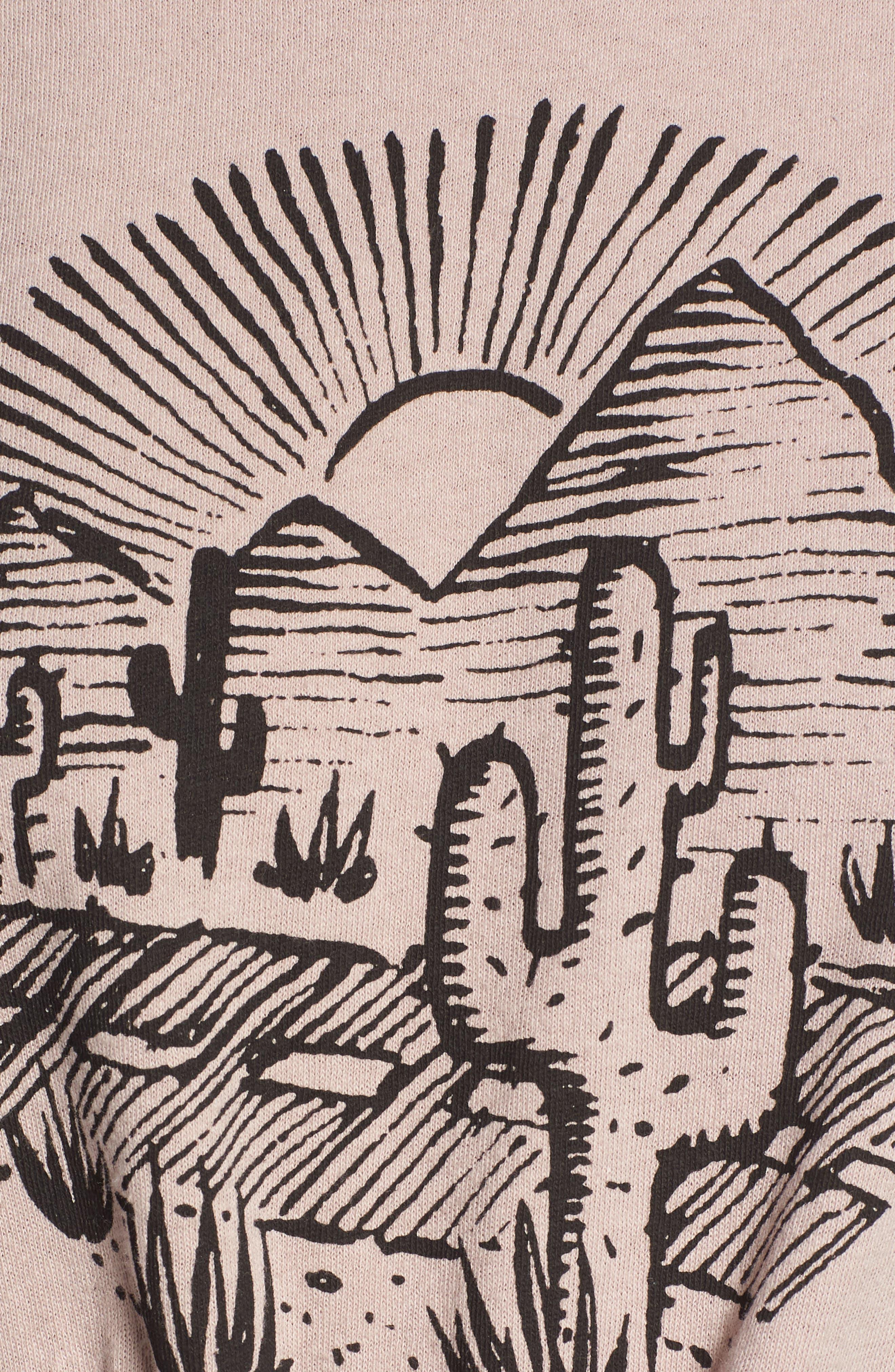Cactus Road Tie Hem Tank,                             Alternate thumbnail 5, color,                             PAVEMENT