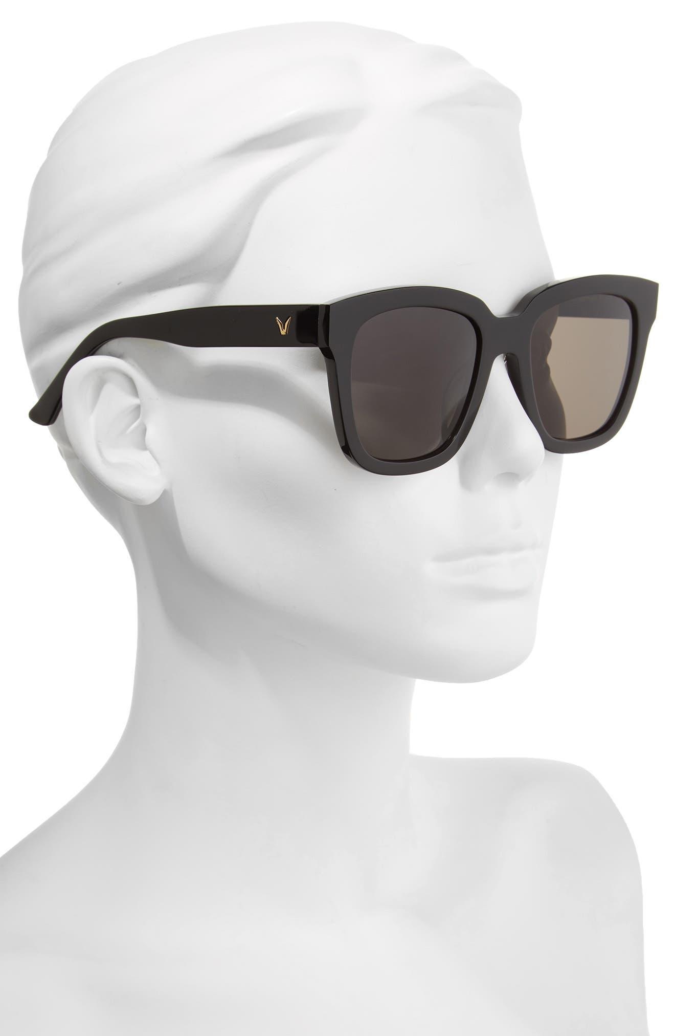 Dreamer Hoff 54mm Sunglasses,                             Alternate thumbnail 4, color,
