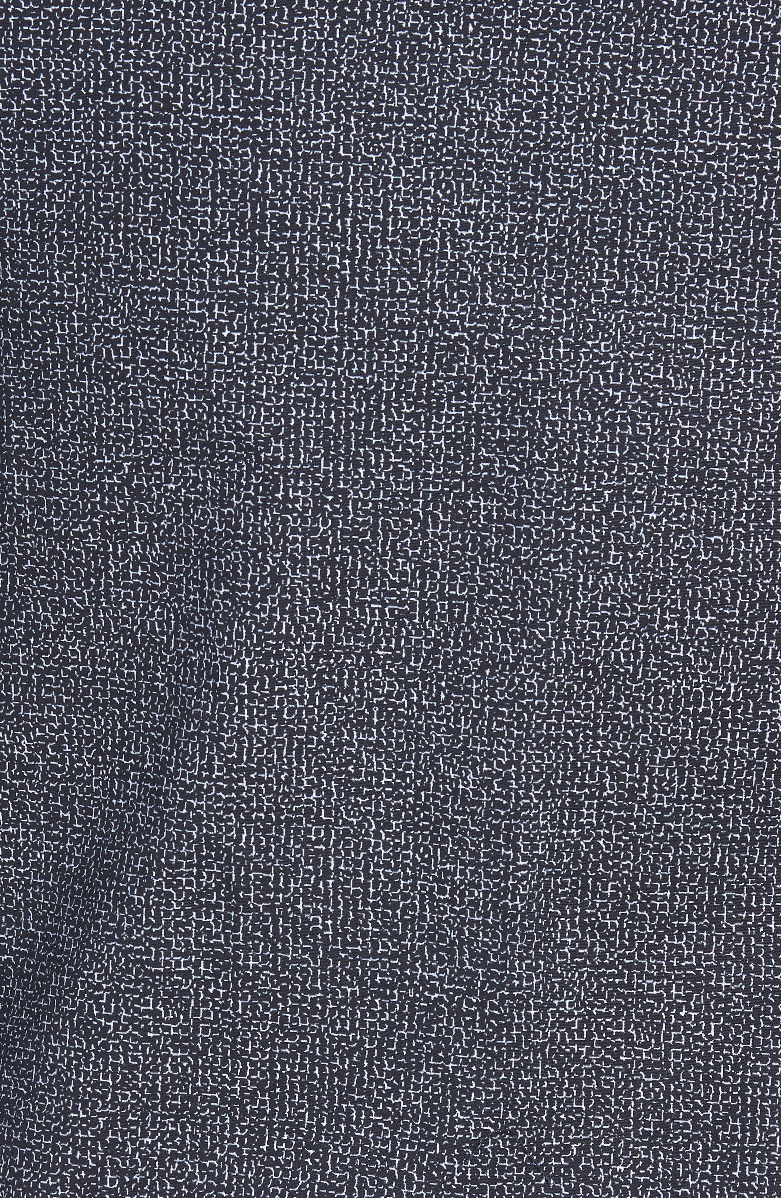 Trim Fit Stretch Check Sport Shirt,                             Alternate thumbnail 5, color,