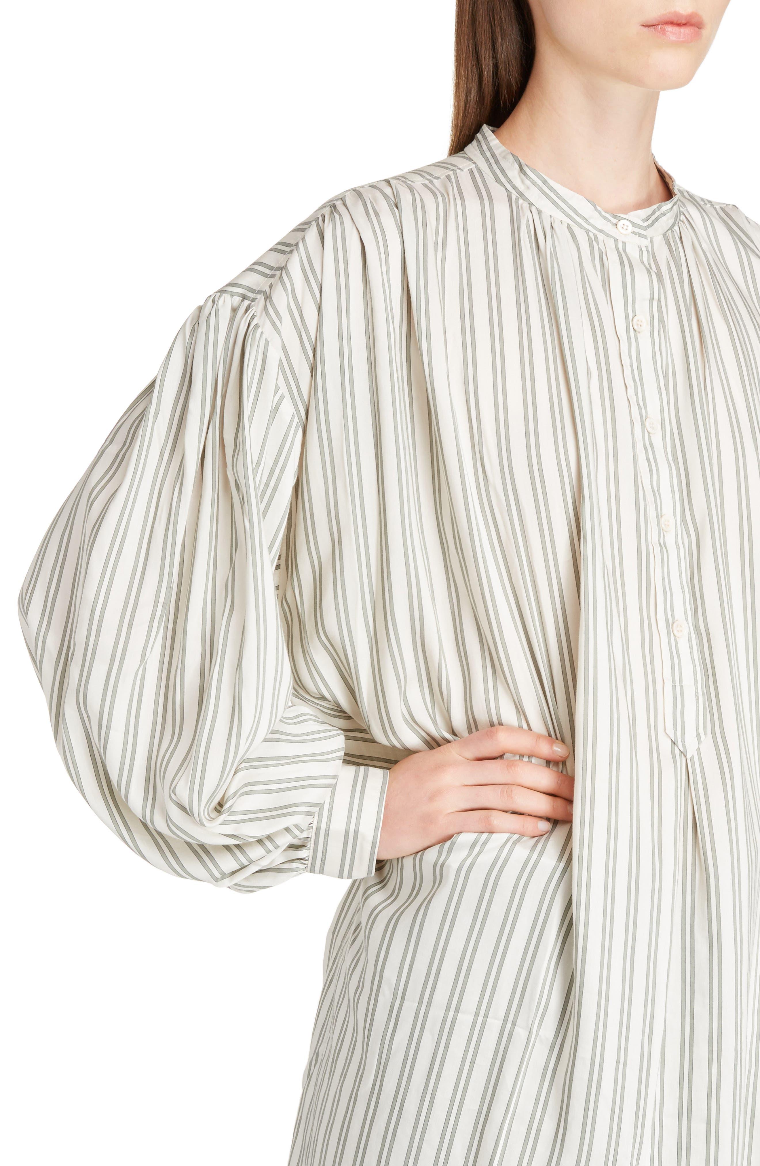Idoa Stripe Tunic,                             Alternate thumbnail 4, color,