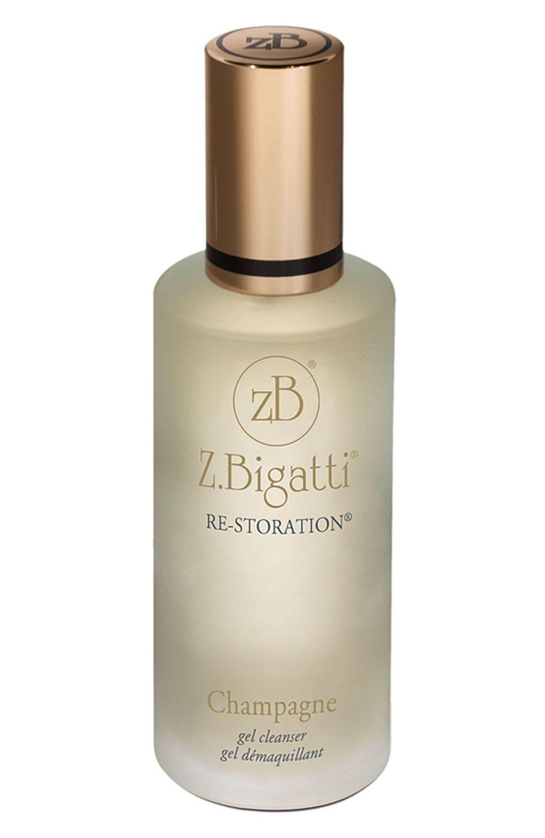 Z.Bigatti<sup>®</sup> Re-Storation<sup>®</sup> Champagne Gel Cleanser,                             Main thumbnail 1, color,