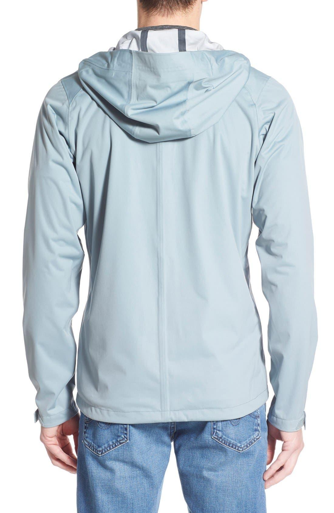 'Rebound' Regular Fit Zip Hooded Jacket,                             Alternate thumbnail 2, color,                             073