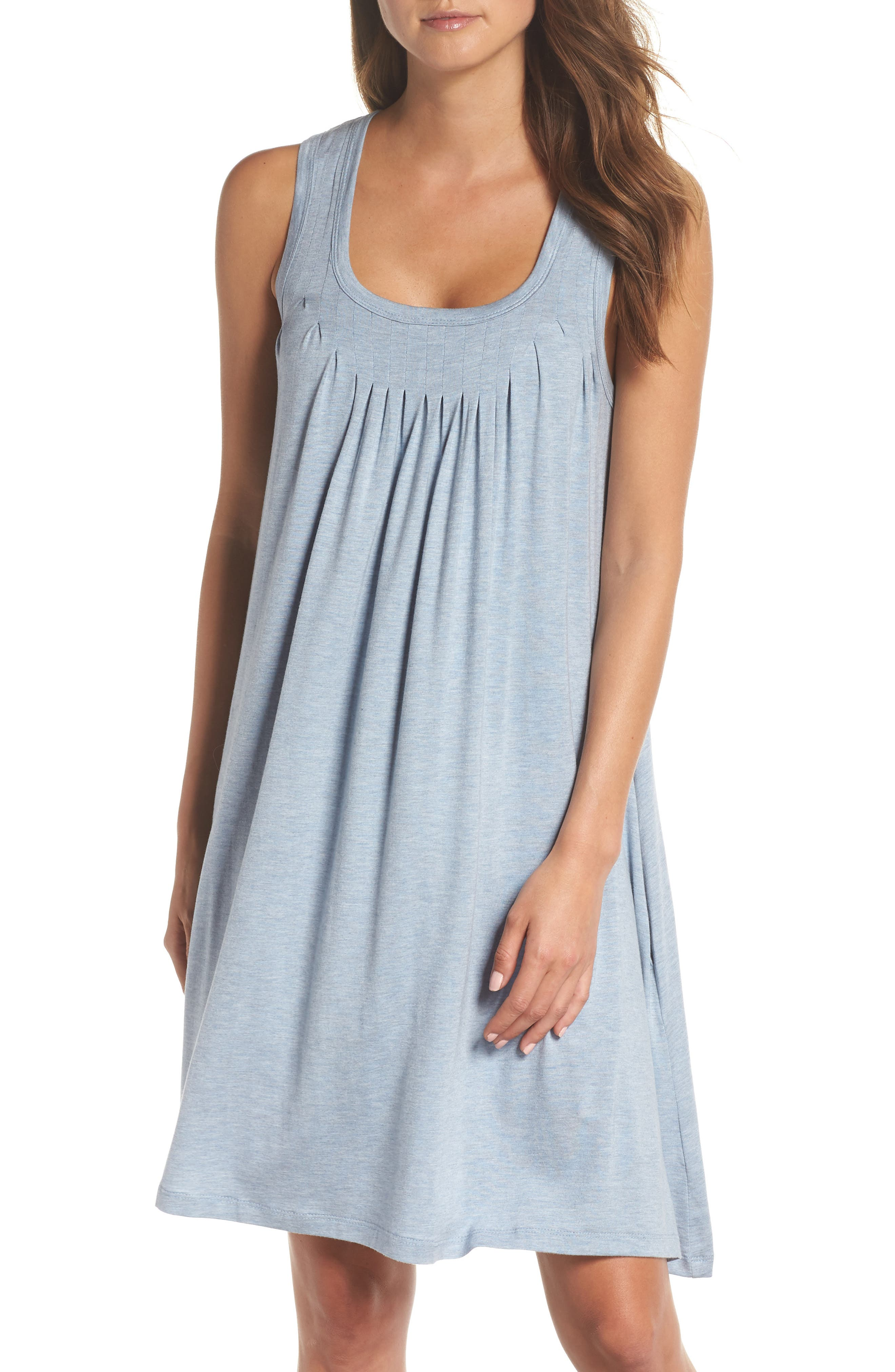 Pleated Chemise,                             Main thumbnail 1, color,                             459