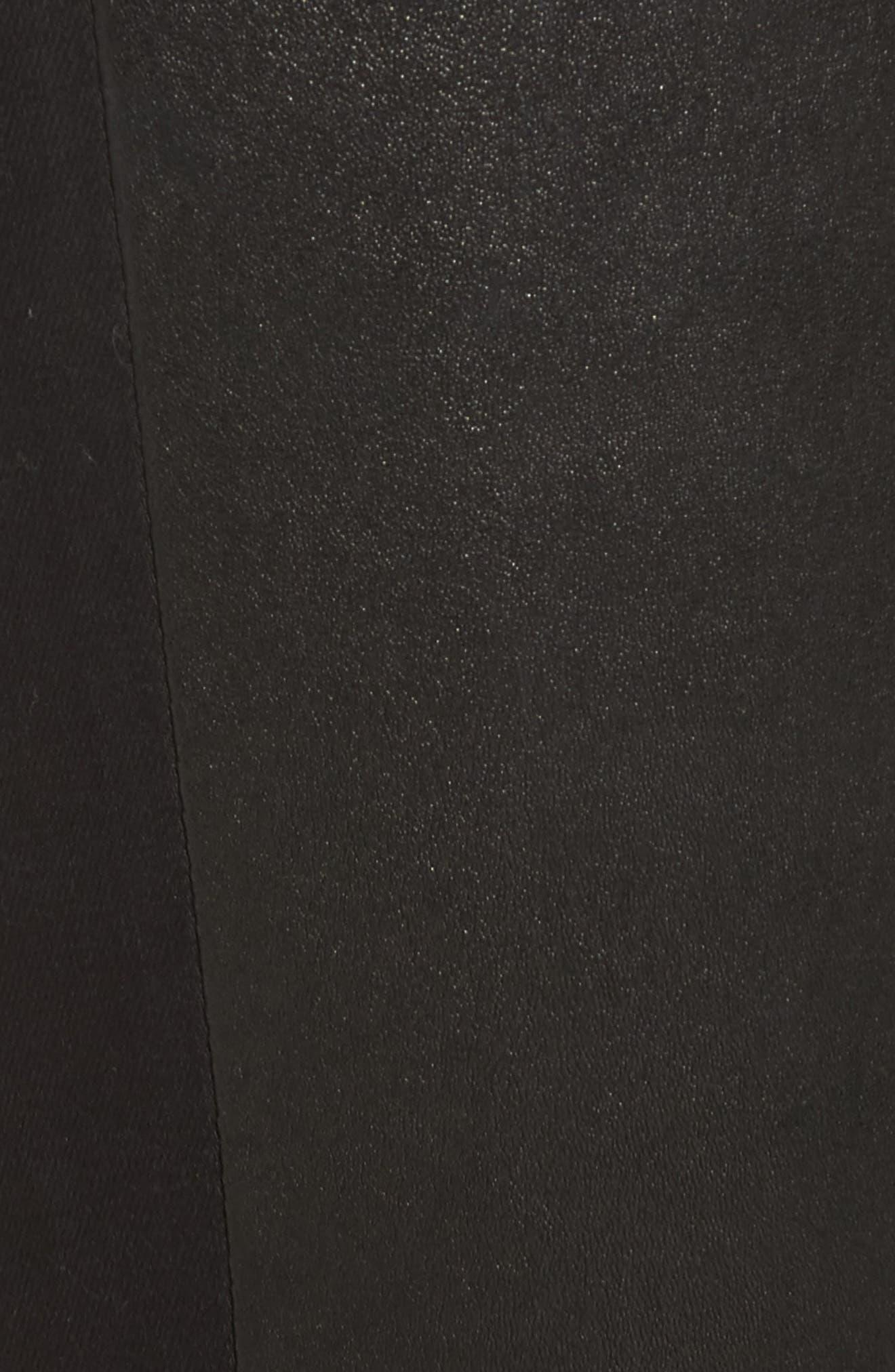 The Farrah High Waist Ankle Skinny Faux Leather Pants,                             Alternate thumbnail 15, color,