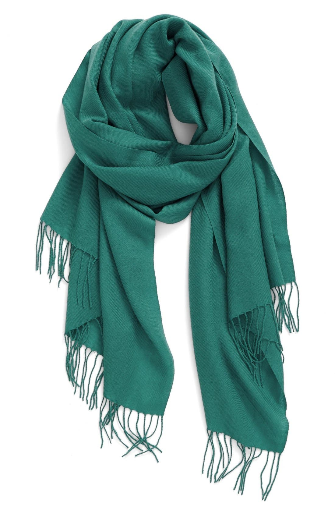 Tissue Weight Wool & Cashmere Scarf,                             Main thumbnail 39, color,