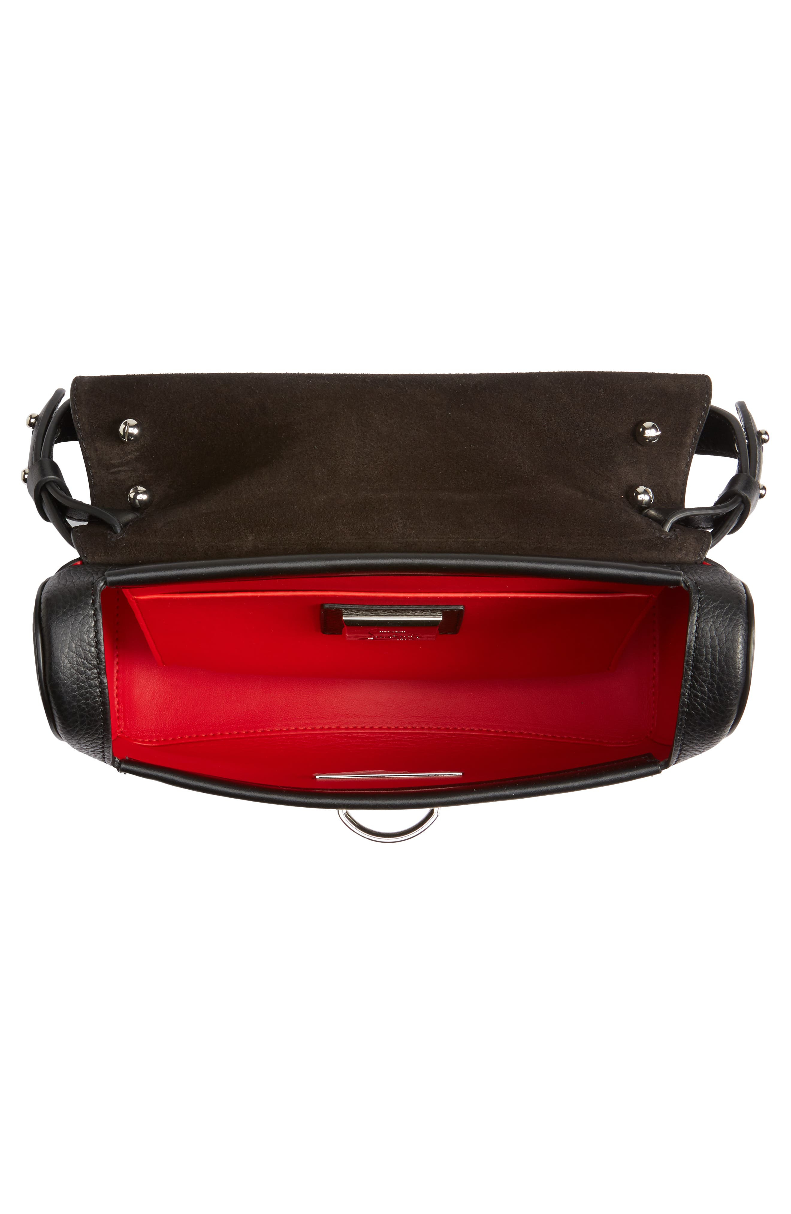 Small Rubylou Calfskin Leather Bag,                             Alternate thumbnail 5, color,                             007