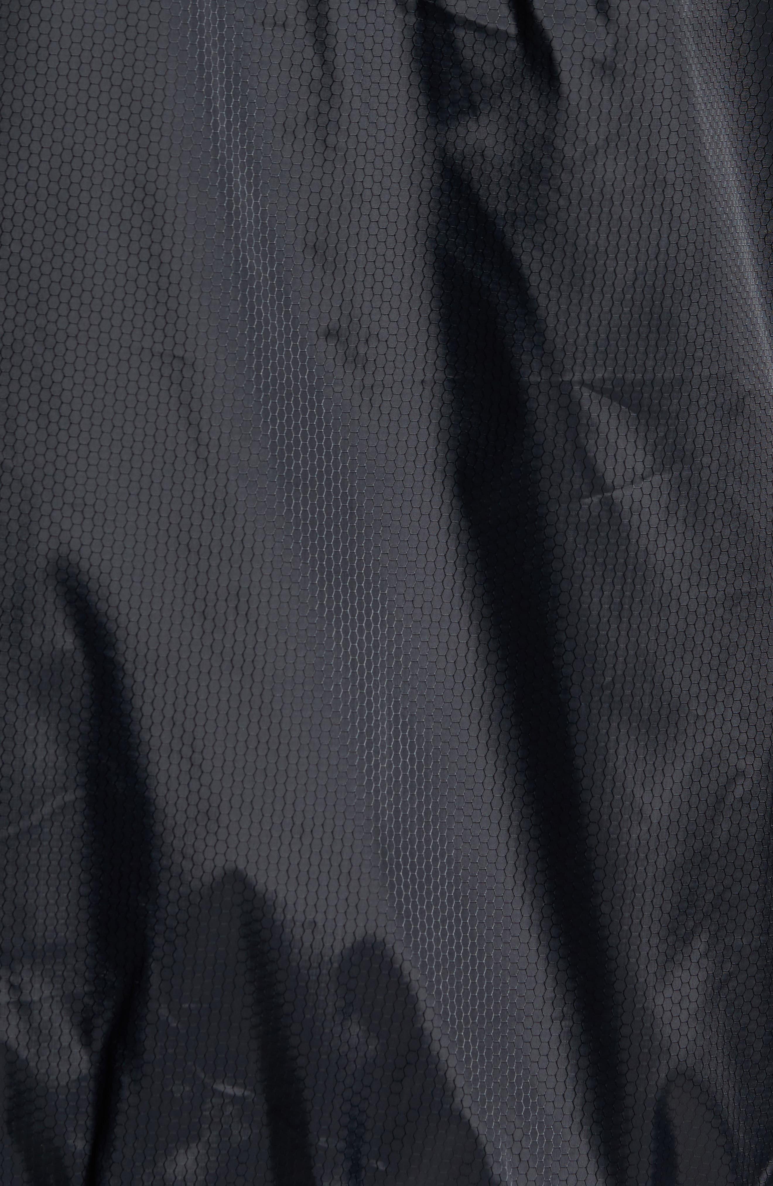 Hexstop II Water Repellent Hooded Jacket,                             Alternate thumbnail 6, color,                             001