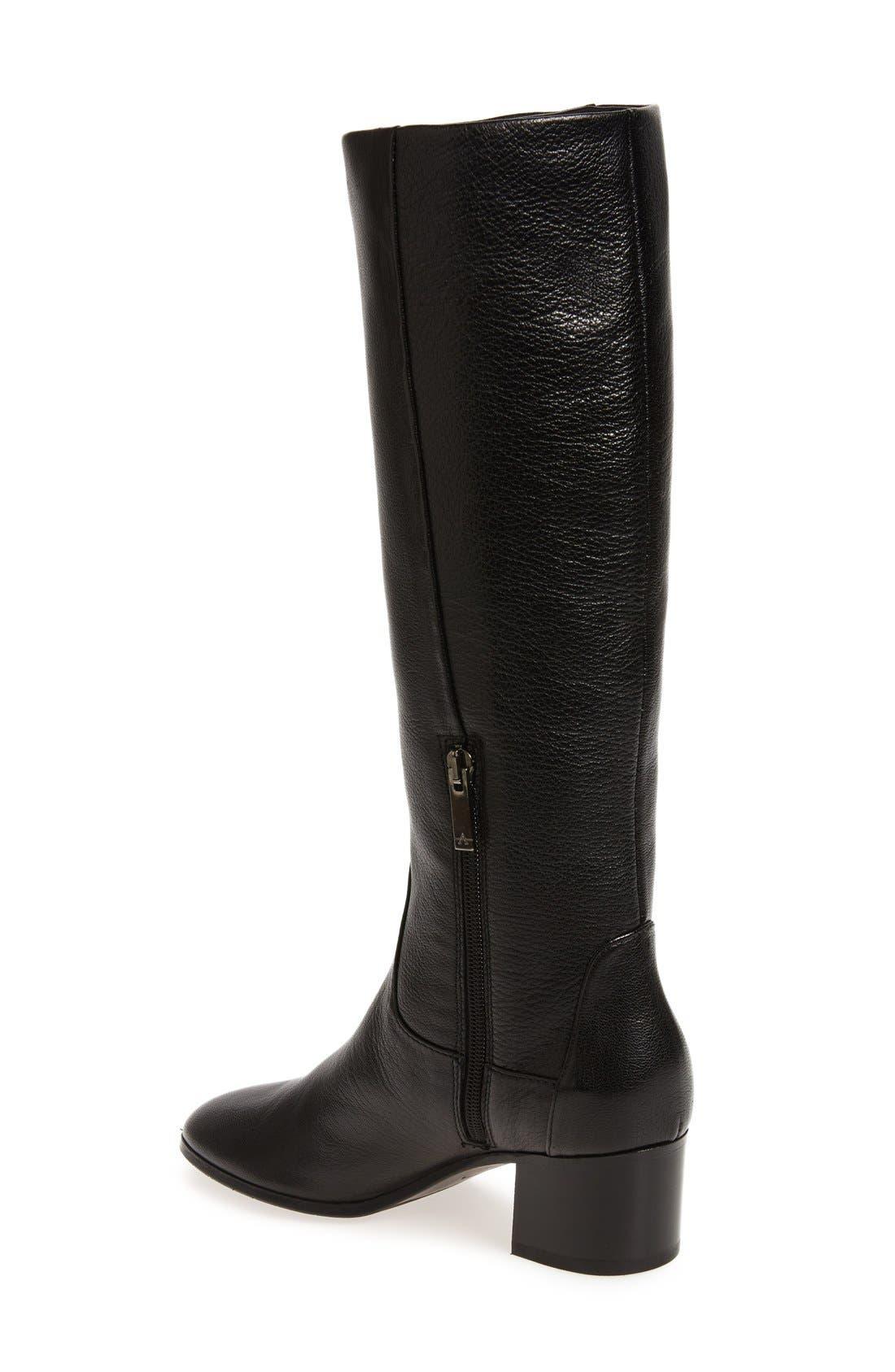 AQUATALIA,                             Deanna Weatherproof Knee High Boot,                             Alternate thumbnail 2, color,                             001