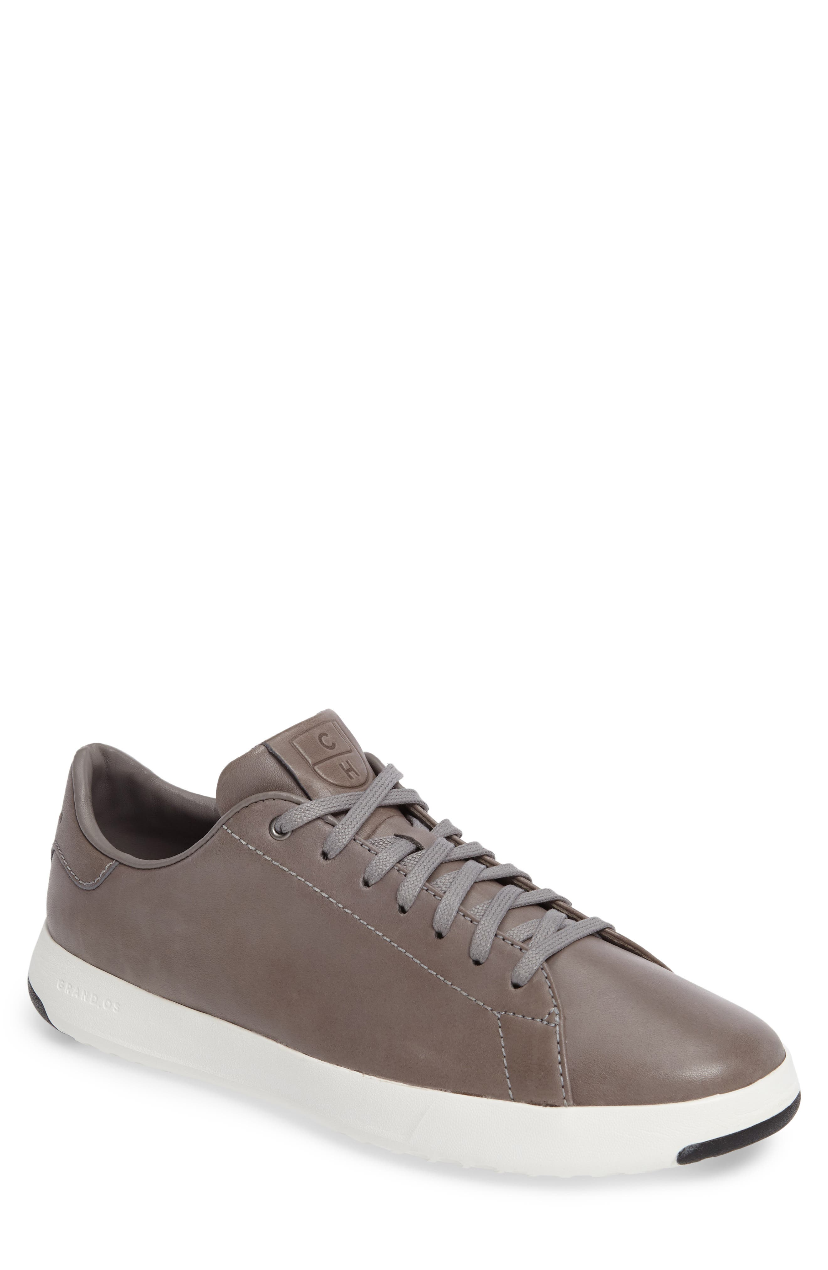 GrandPro Tennis Sneaker,                             Main thumbnail 1, color,                             IRONCLOUD LEATHER