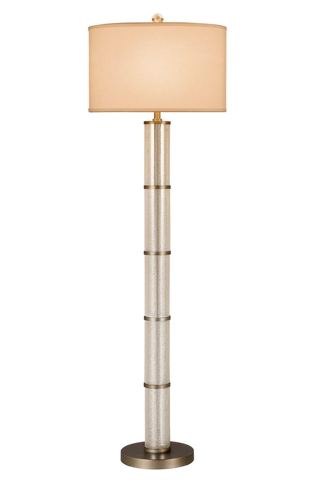 JAlexander Glass Cylinder Floor Lamp,                             Main thumbnail 1, color,                             040