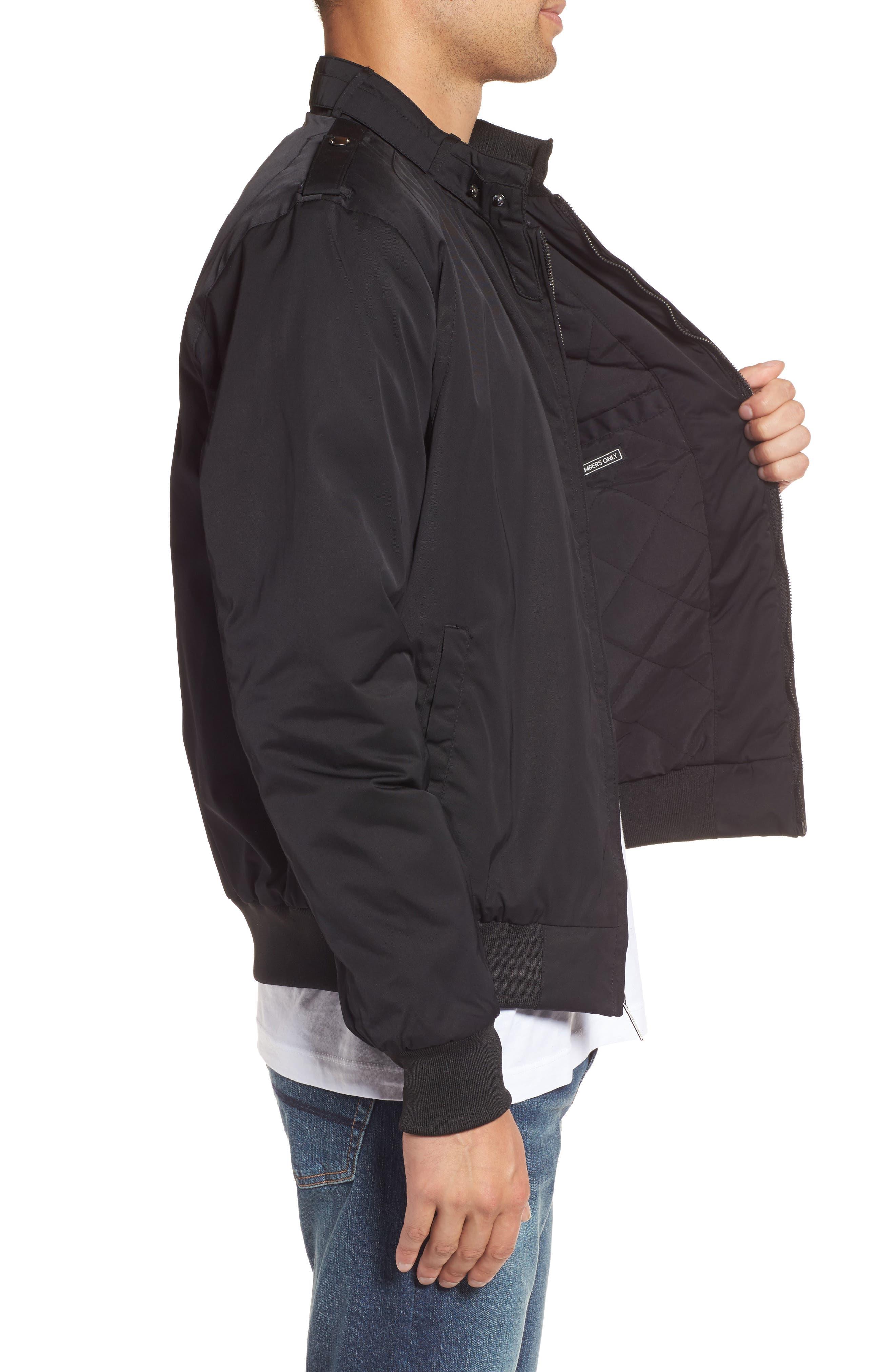 Twill Iconic Jacket,                             Alternate thumbnail 3, color,                             001