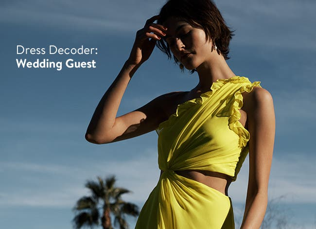Dress decoder: wedding-guest style.