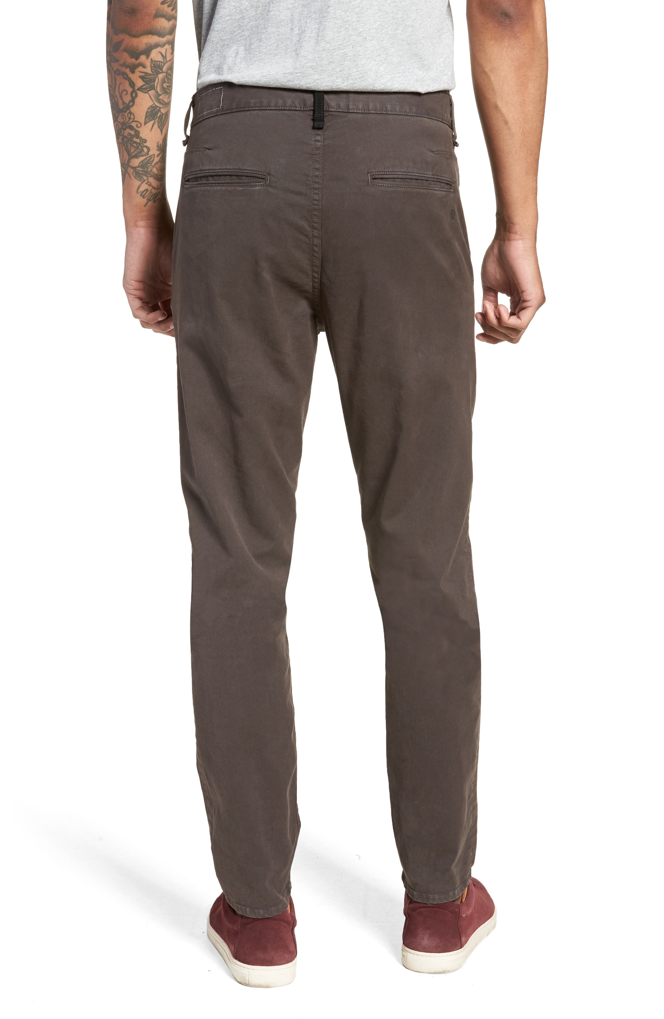 Fit 2 Chinos,                             Alternate thumbnail 2, color,                             GREY