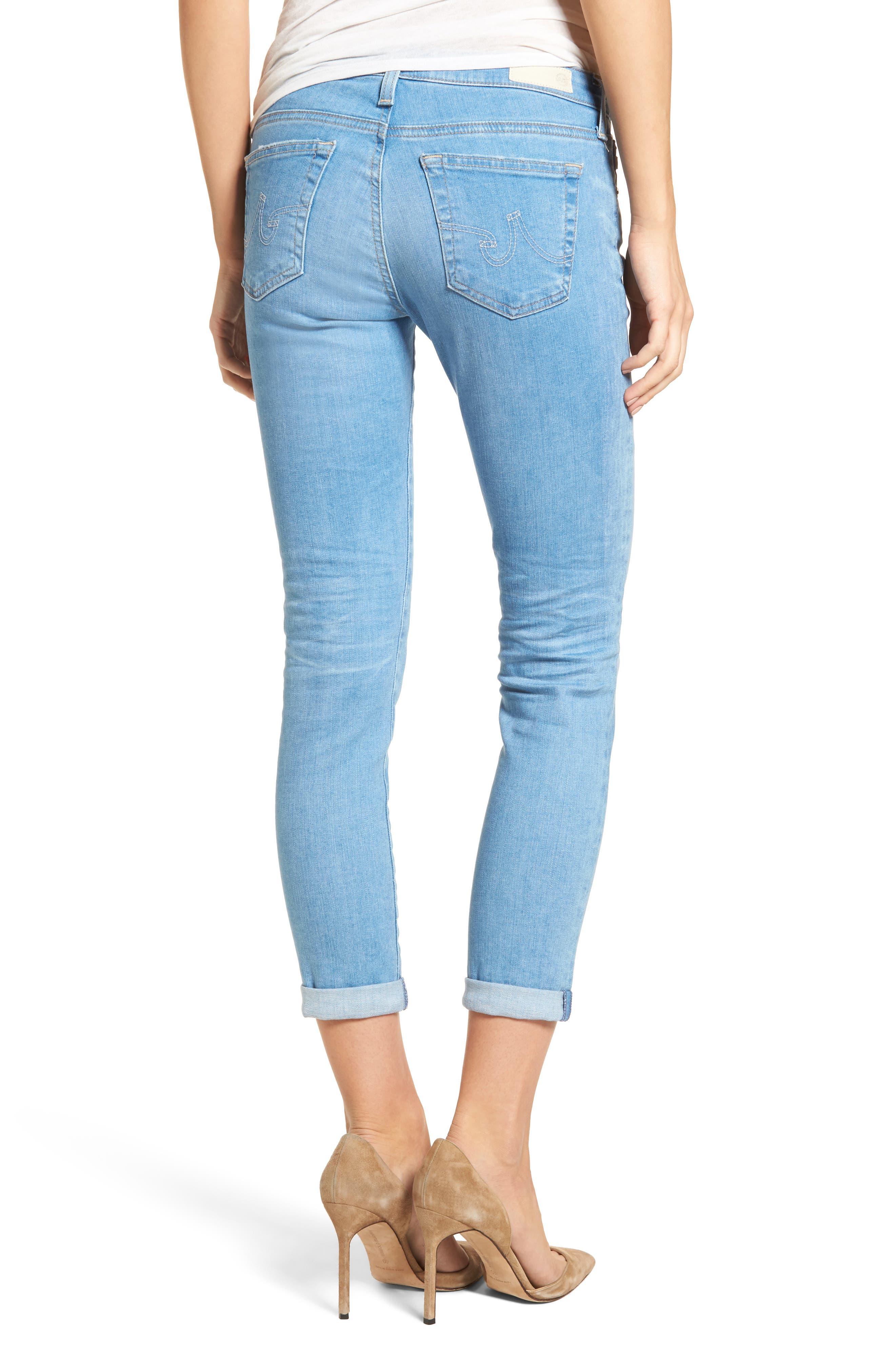 The Stilt Crop Skinny Jeans,                             Alternate thumbnail 2, color,                             461