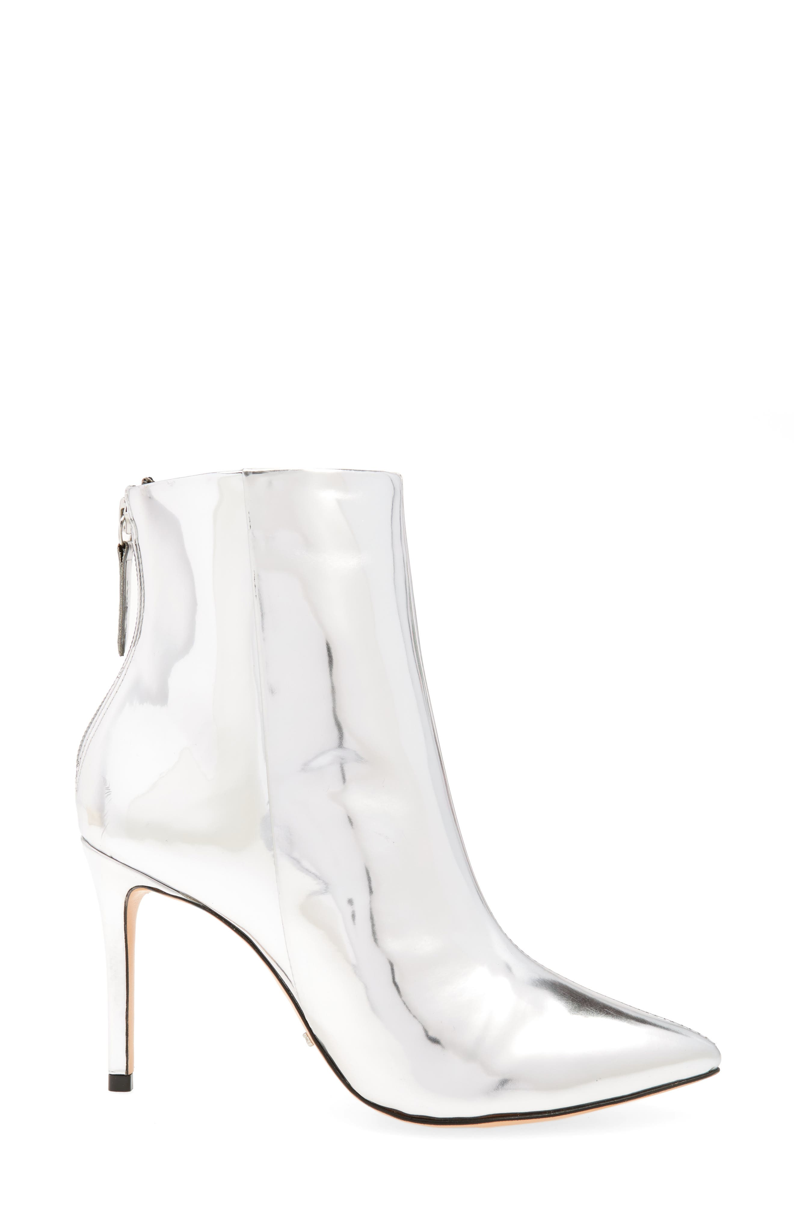Ginny Pointy Toe Bootie,                             Alternate thumbnail 3, color,                             042