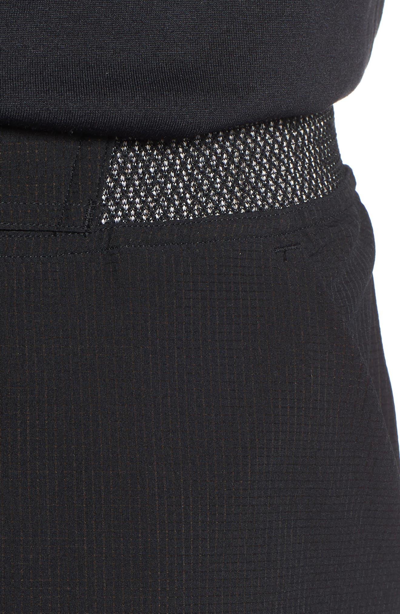 Epic Knit Shorts,                             Alternate thumbnail 4, color,                             BLACK