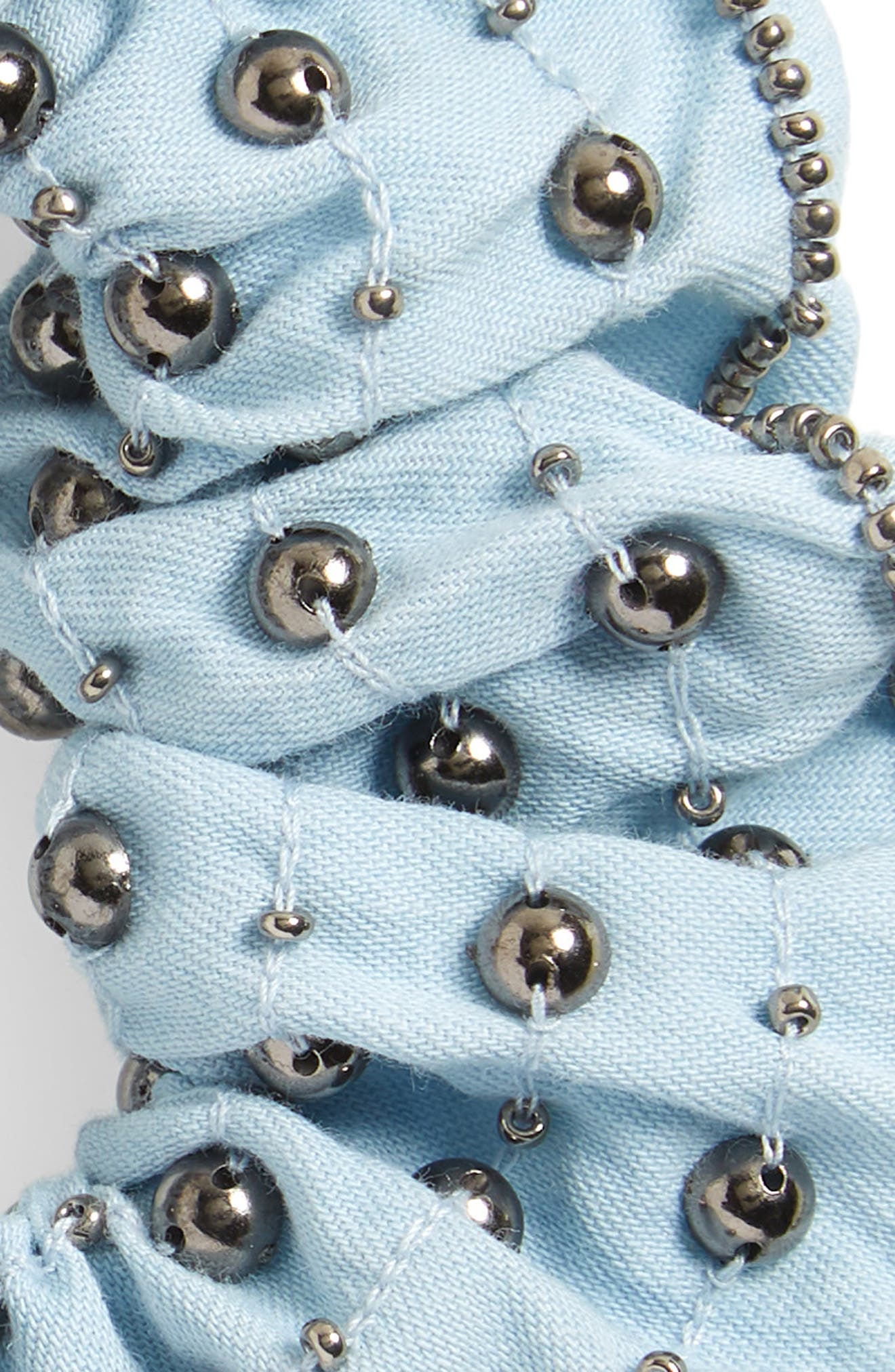 Studded Scrunchie,                             Alternate thumbnail 2, color,                             461