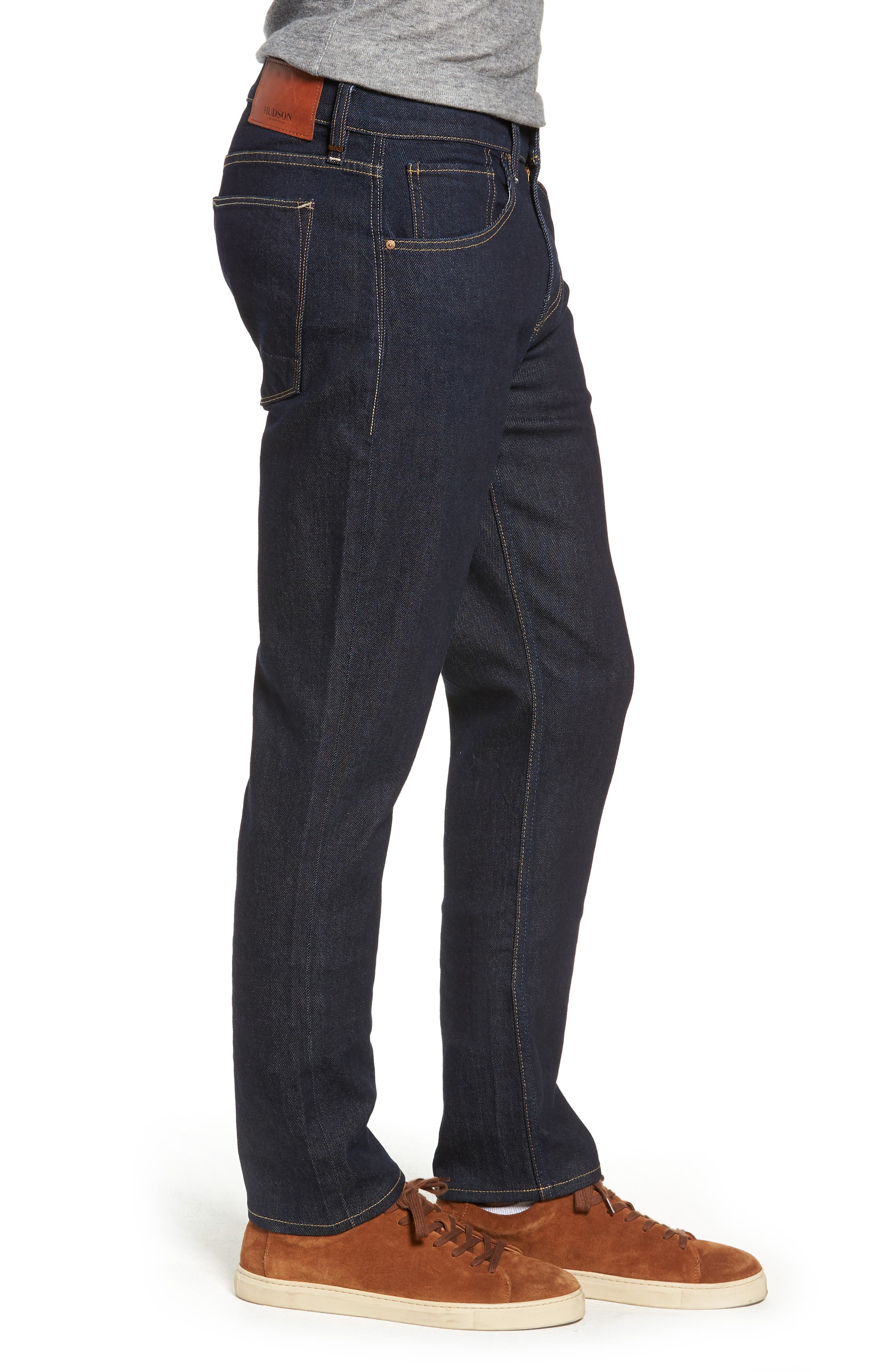 Blake Slim Fit Jeans,                             Alternate thumbnail 3, color,                             DUARTE