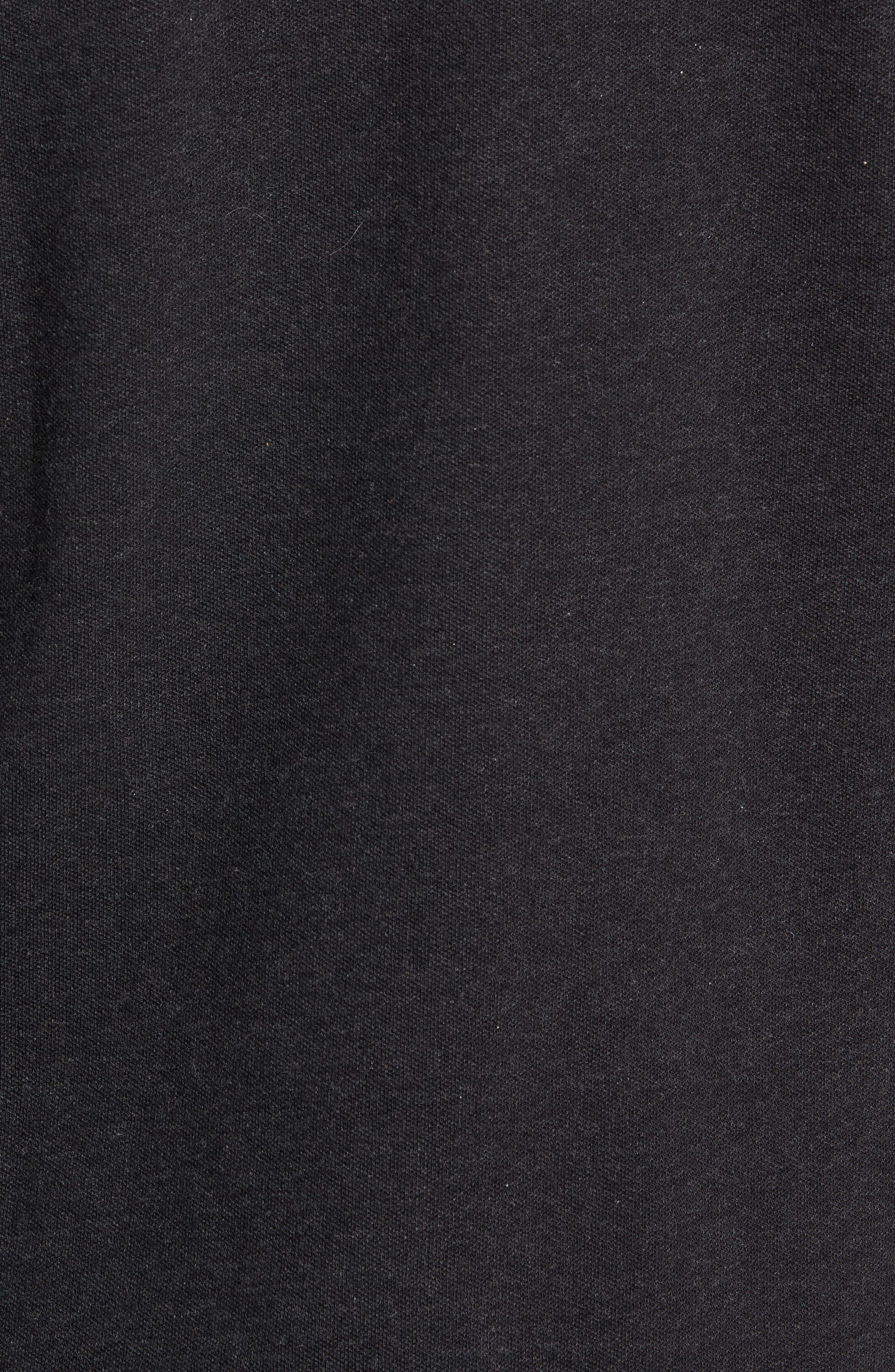 Long Sleeve Stretch Piqué Polo,                             Alternate thumbnail 5, color,                             024