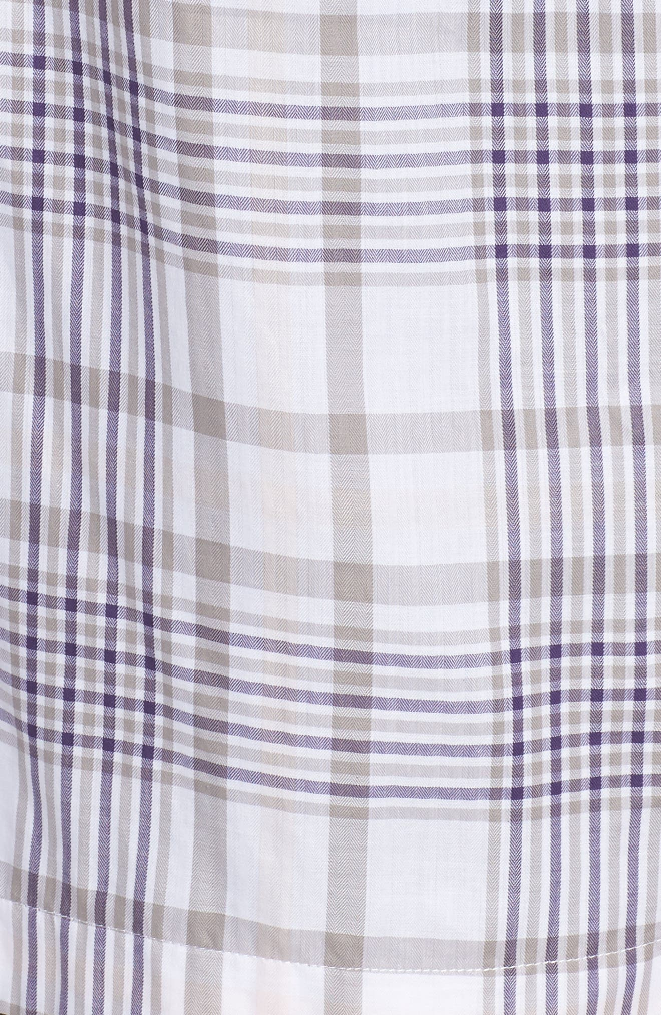 Maddy Winter Plaid Shirt,                             Alternate thumbnail 5, color,                             037