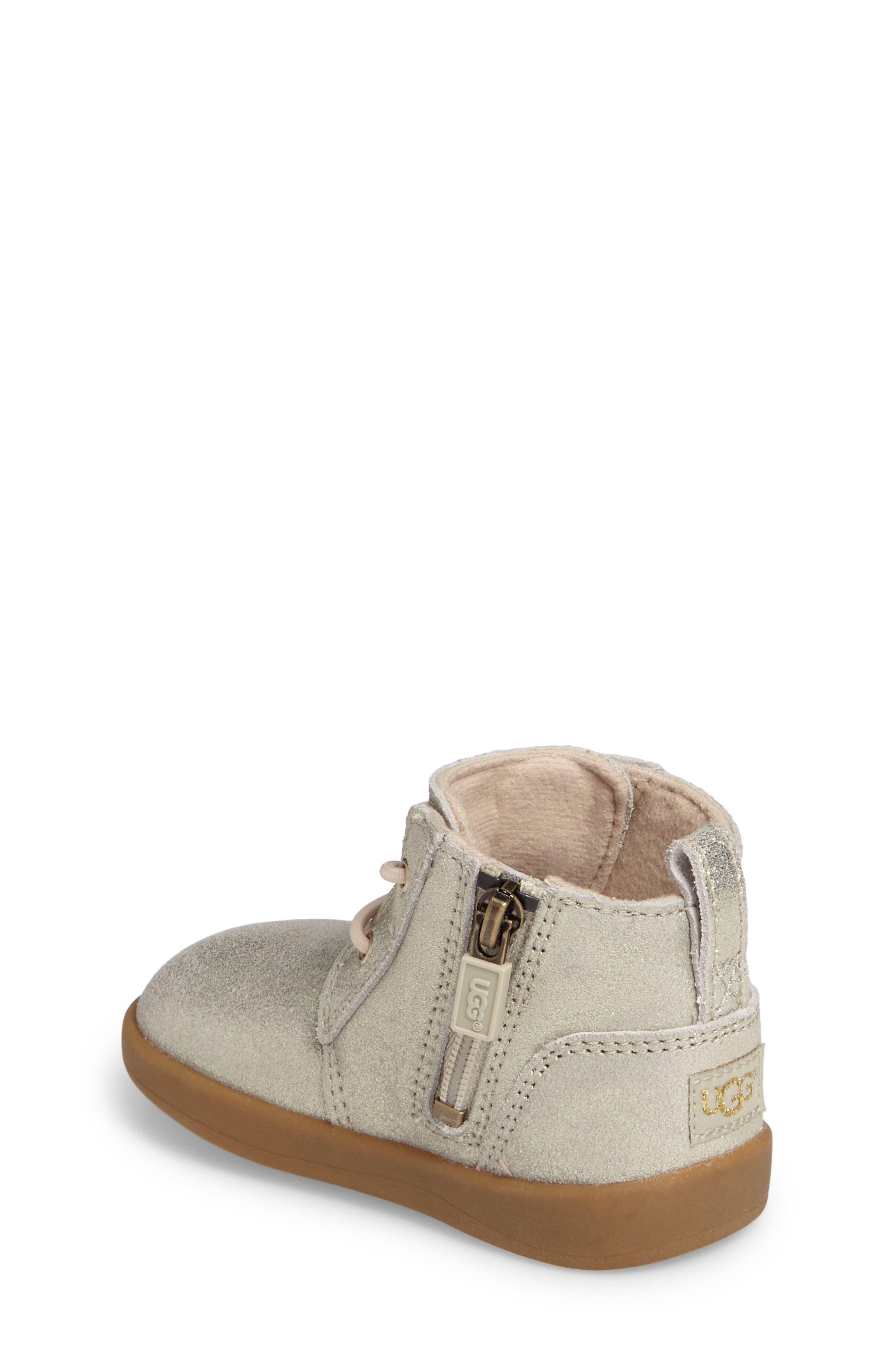 UGG<SUP>®</SUP>,                             Kristjan Metallic Sneaker Boot,                             Alternate thumbnail 2, color,                             710