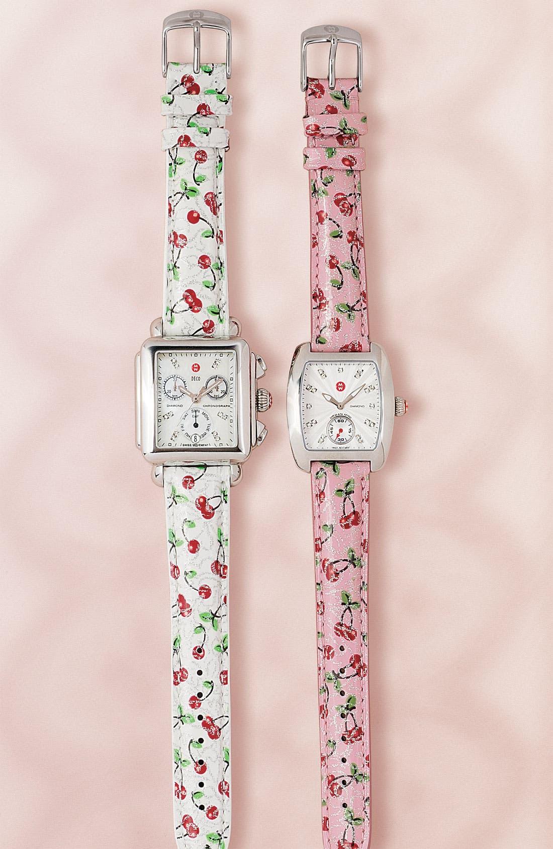 Urban Mini Diamond Dial Watch Case, 29mm x 30mm,                             Alternate thumbnail 4, color,                             040