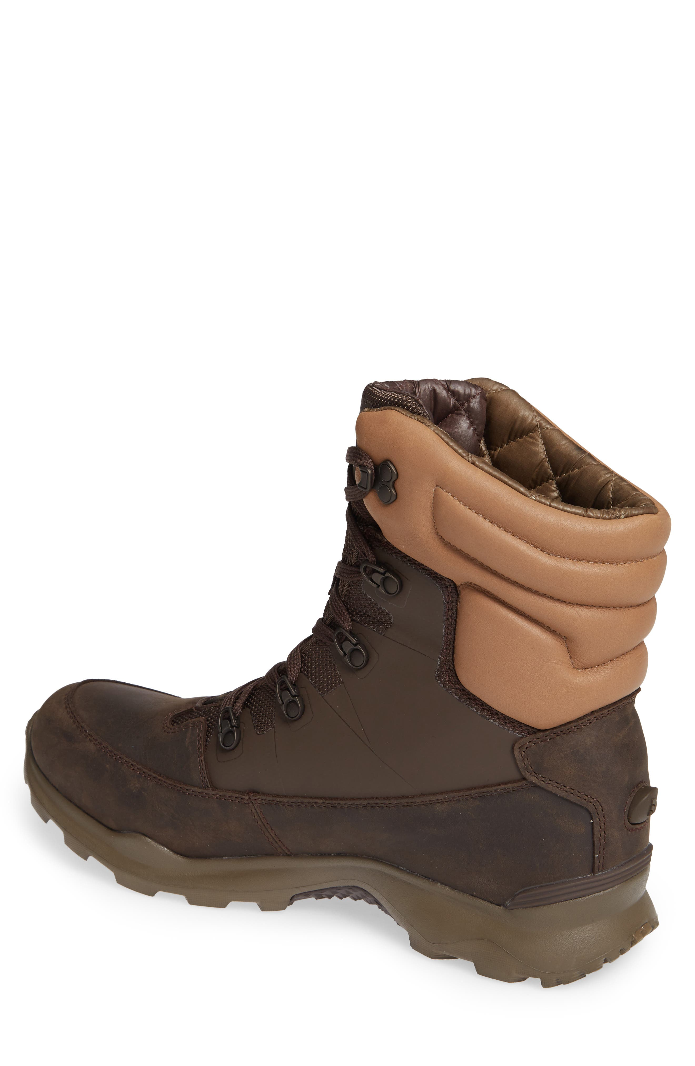THE NORTH FACE,                             ThermoBall Lifty Snow Waterproof Boot,                             Alternate thumbnail 2, color,                             CHOCOLATE BROWN/ CARGO KHAKI