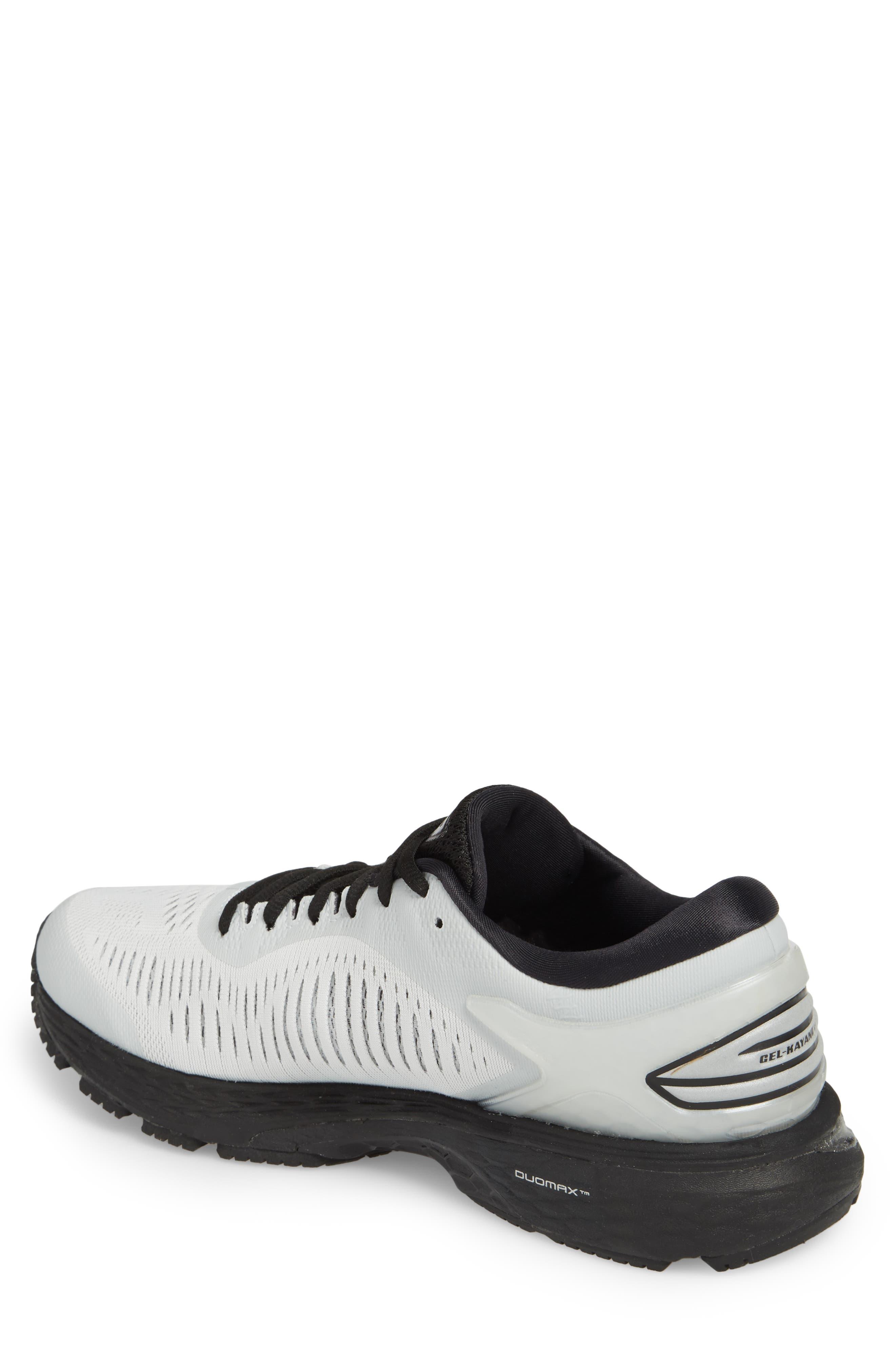 GEL-Kayano<sup>®</sup> 25 Running Shoe,                             Alternate thumbnail 2, color,                             GLACIER GREY/ BLACK