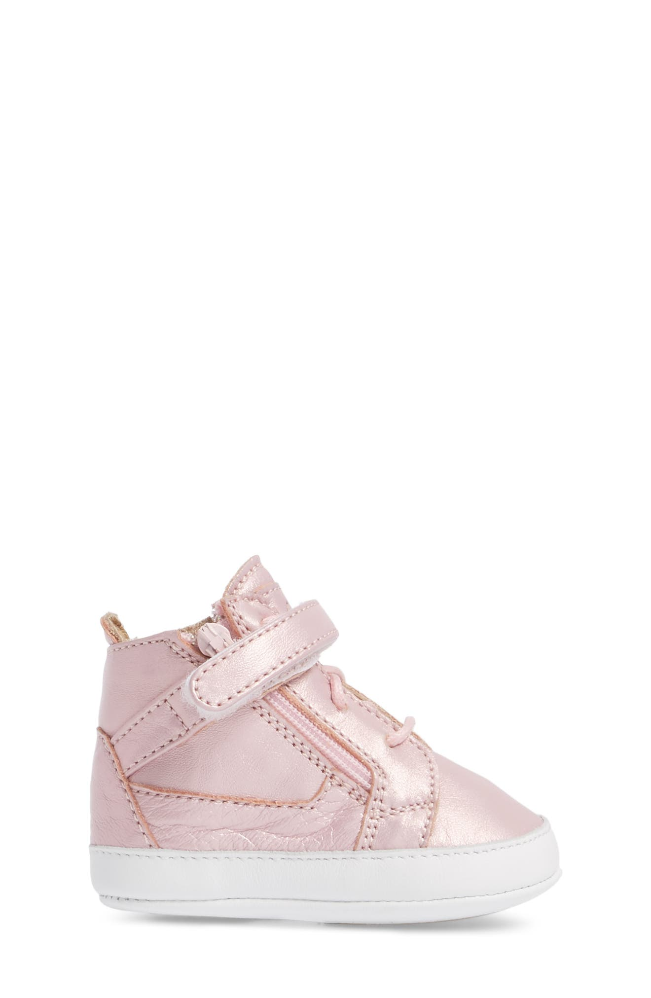Culla London High Top Crib Sneaker,                             Alternate thumbnail 9, color,