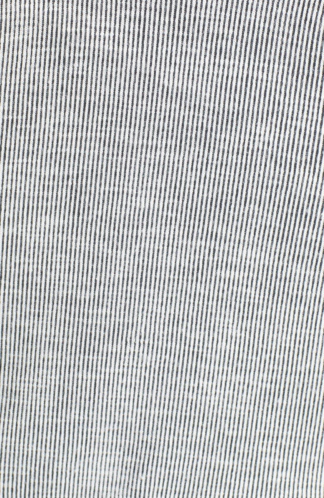CSBLA 'Bari' Ribbed Racerback Crop Top,                             Alternate thumbnail 4, color,                             030