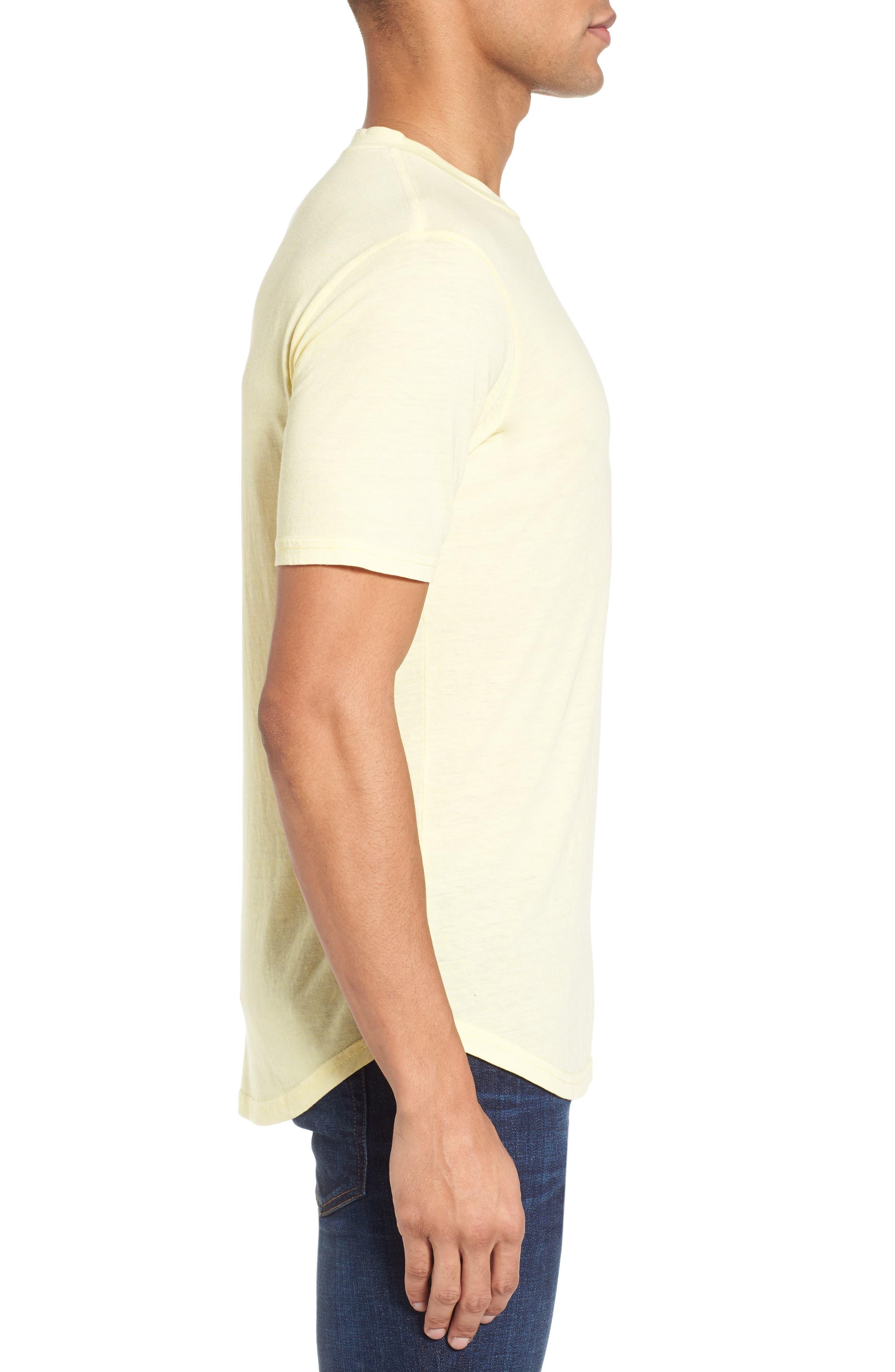 Scallop Triblend Crewneck T-Shirt,                             Alternate thumbnail 48, color,