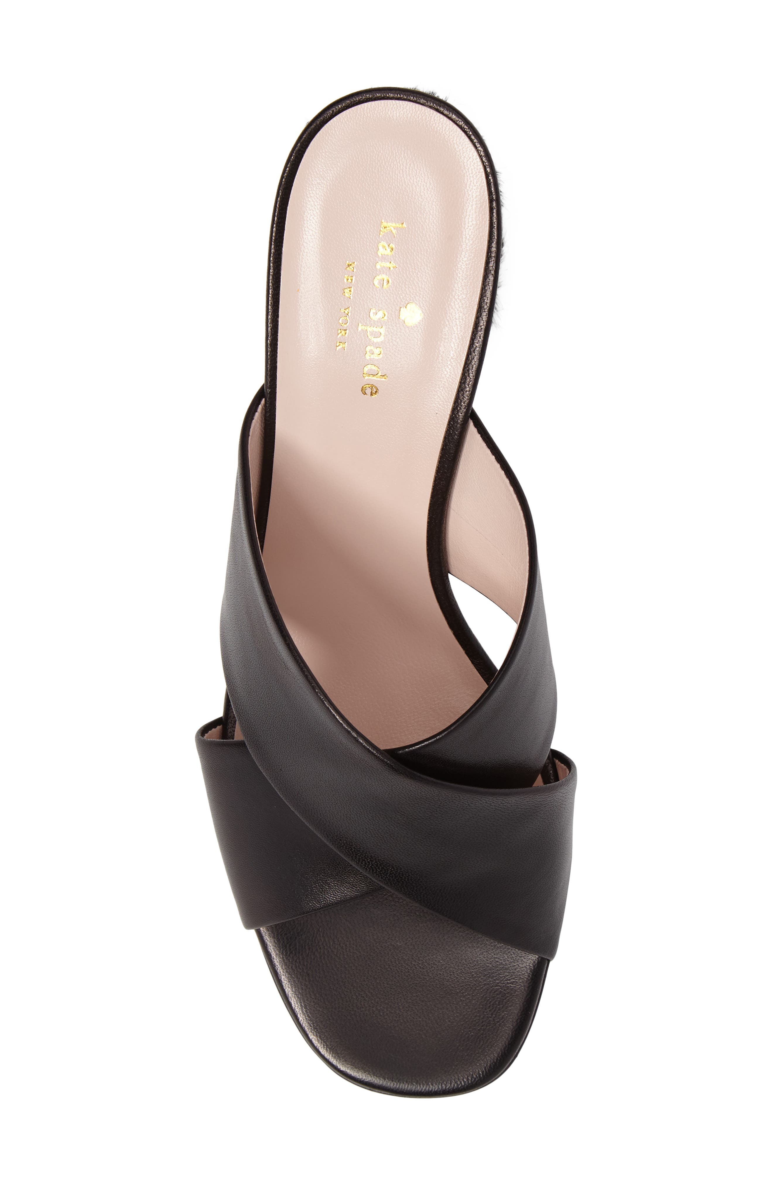 denault slide sandal,                             Alternate thumbnail 5, color,                             001