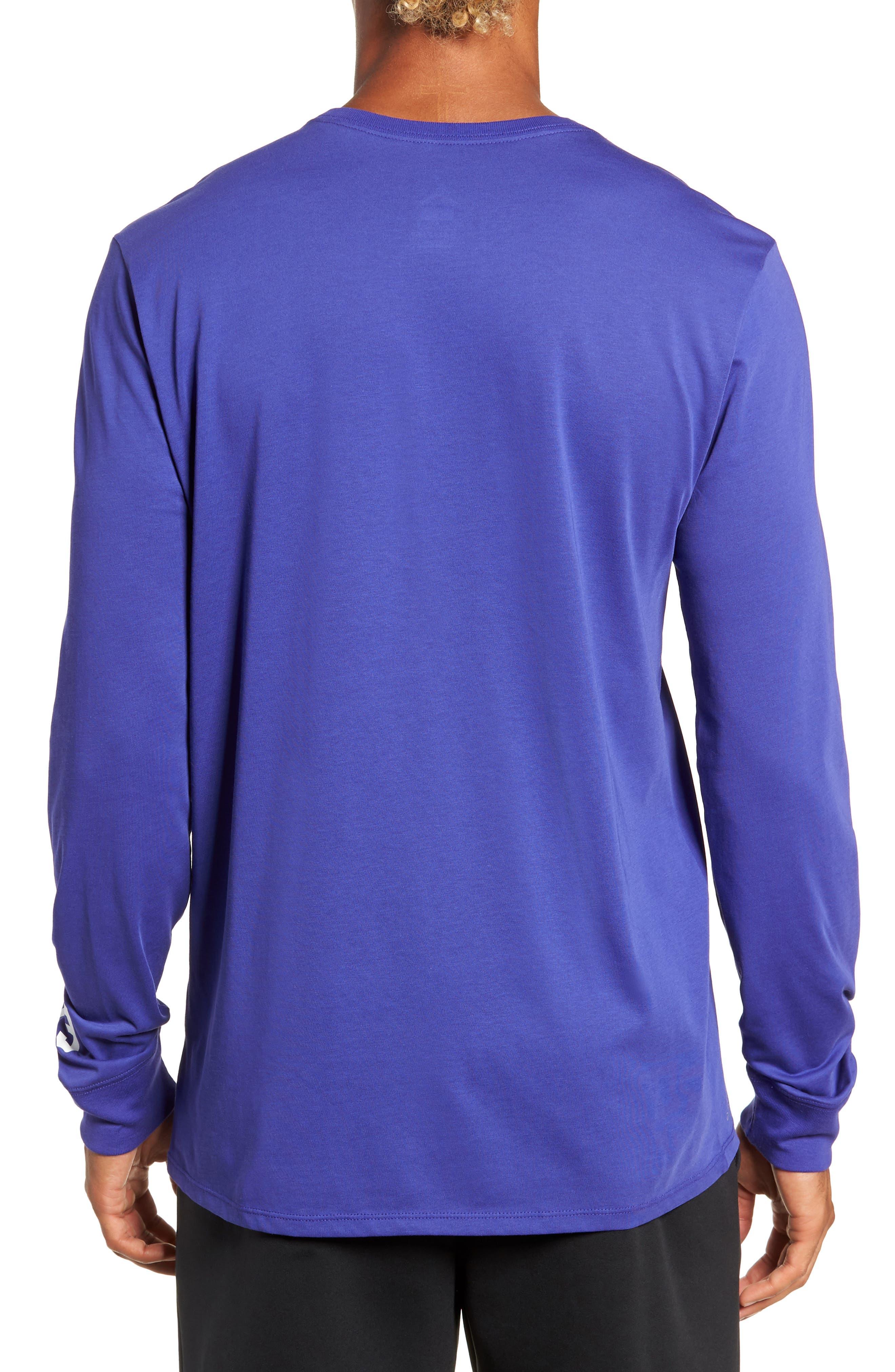 Basketball T-Shirt,                             Alternate thumbnail 2, color,                             BLUE
