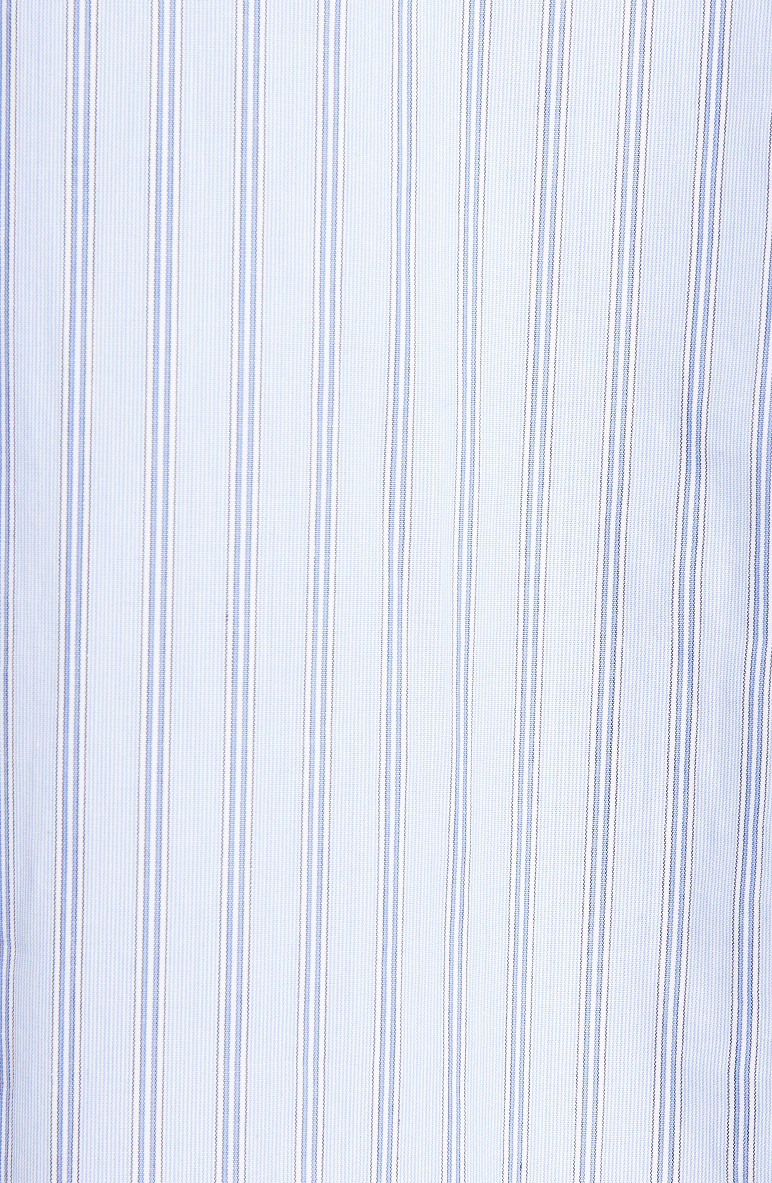 Patchwork Cotton & Linen Shirt,                             Alternate thumbnail 5, color,                             469