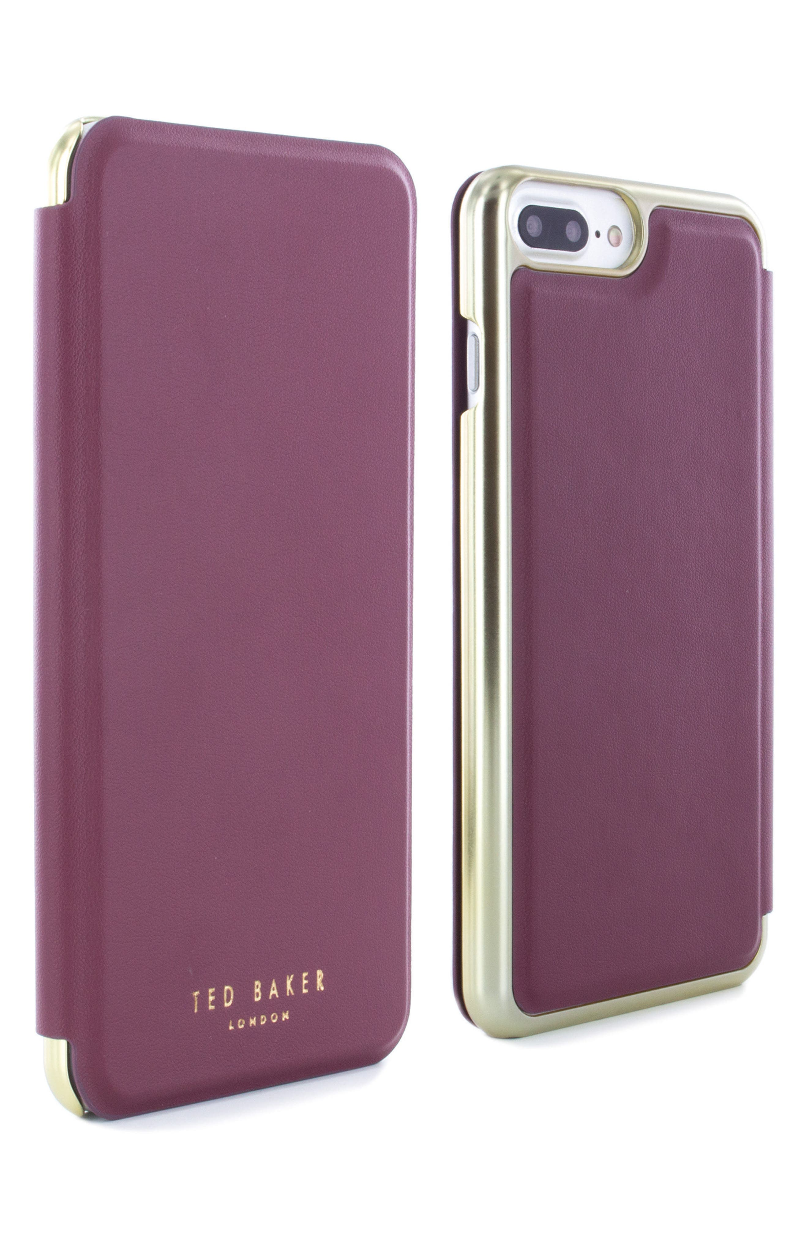 Shannon iPhone 6/6s/7/8 Plus Mirror Folio Case,                             Alternate thumbnail 3, color,                             601