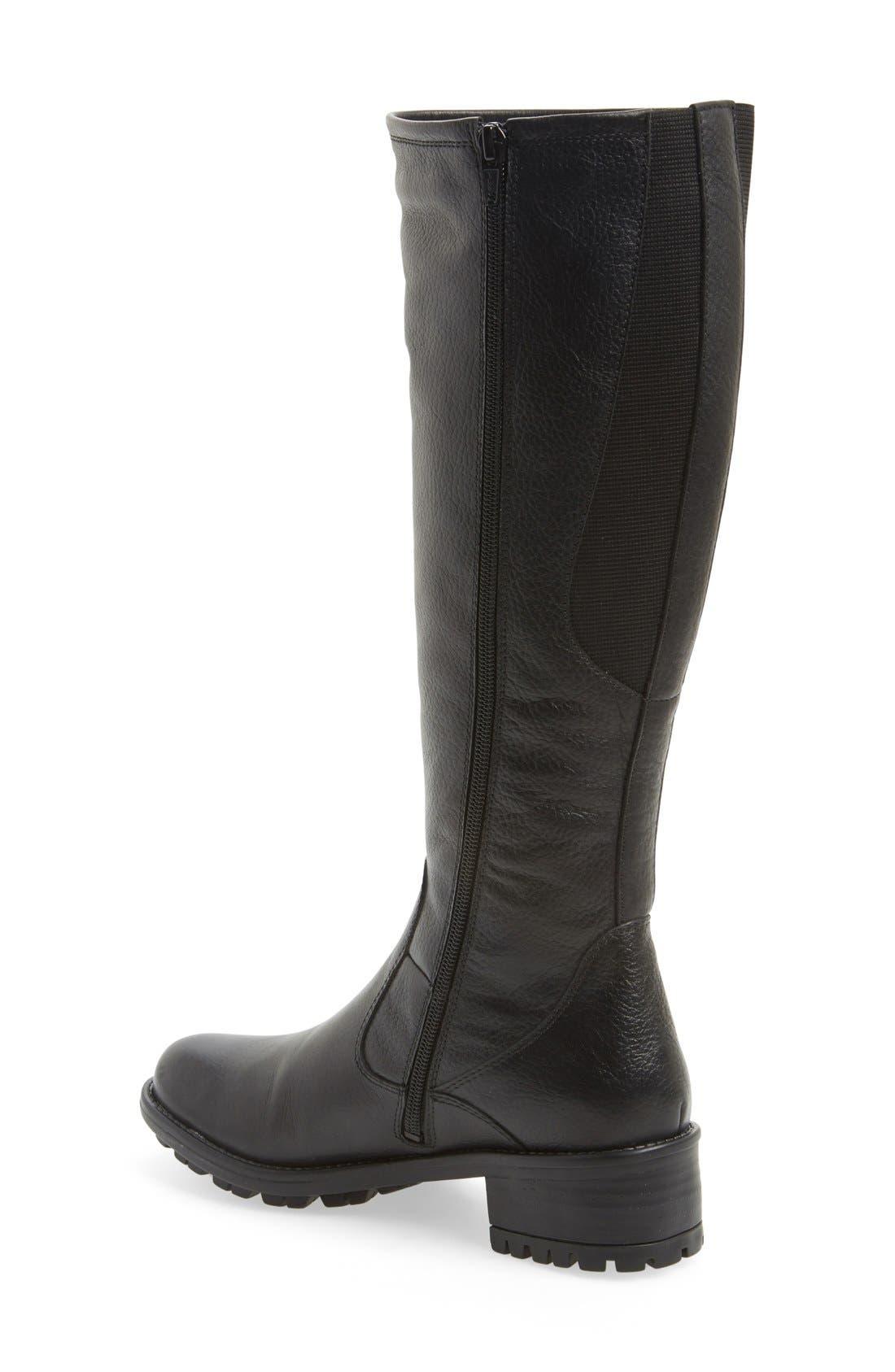 'Andrea' Waterproof Boot,                             Alternate thumbnail 2, color,                             004
