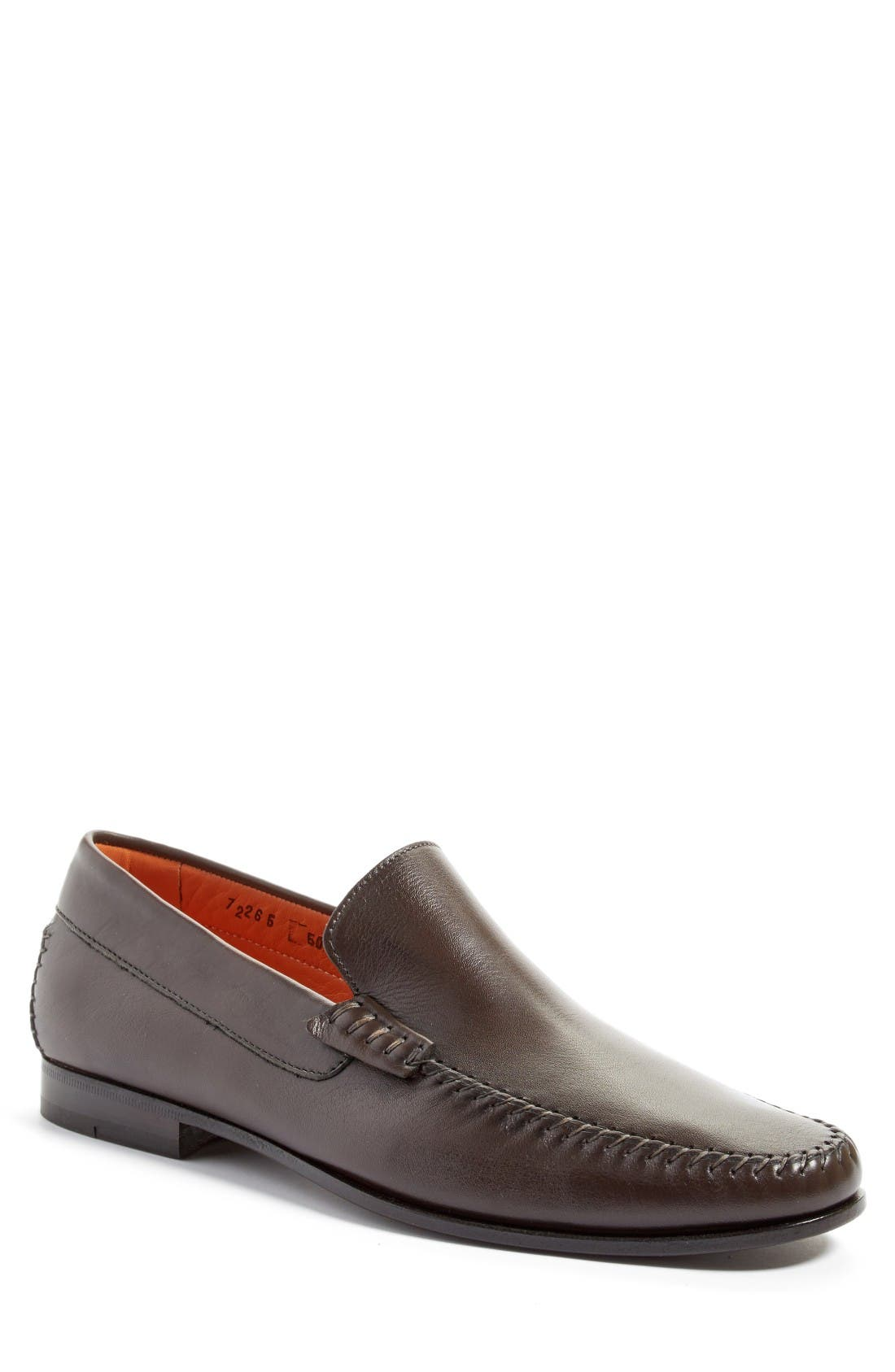 'Auburn' Venetian Loafer,                             Main thumbnail 2, color,