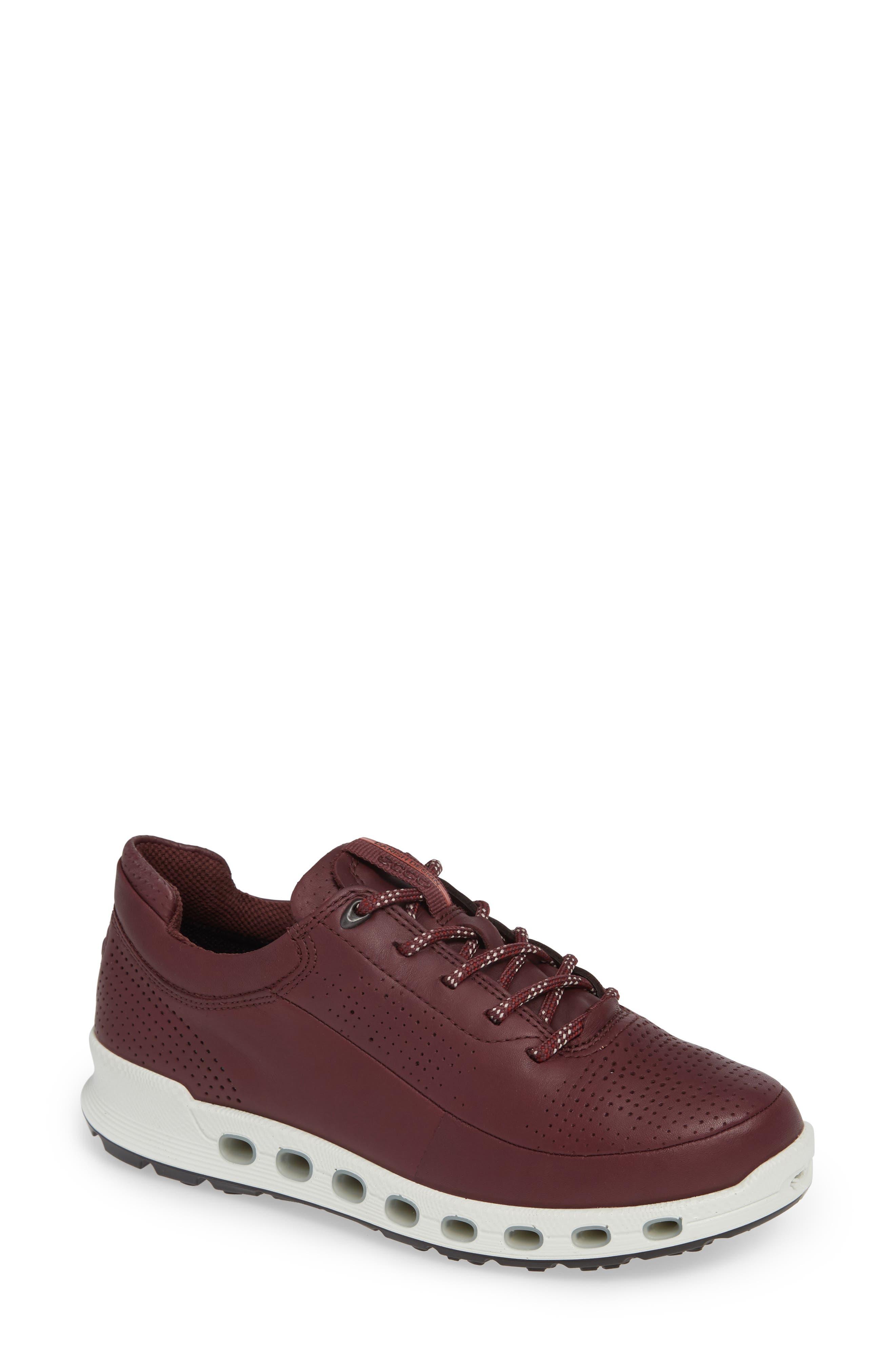 Cool 2.0 GTX Waterproof Sneaker,                         Main,                         color, WINE LEATHER