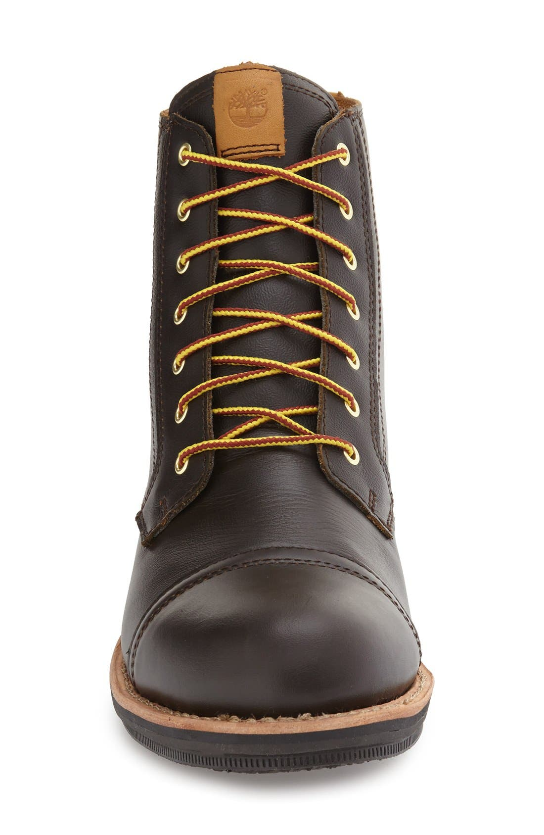 TIMBERLAND,                             'Willoughby' Cap Toe Boot,                             Alternate thumbnail 3, color,                             200