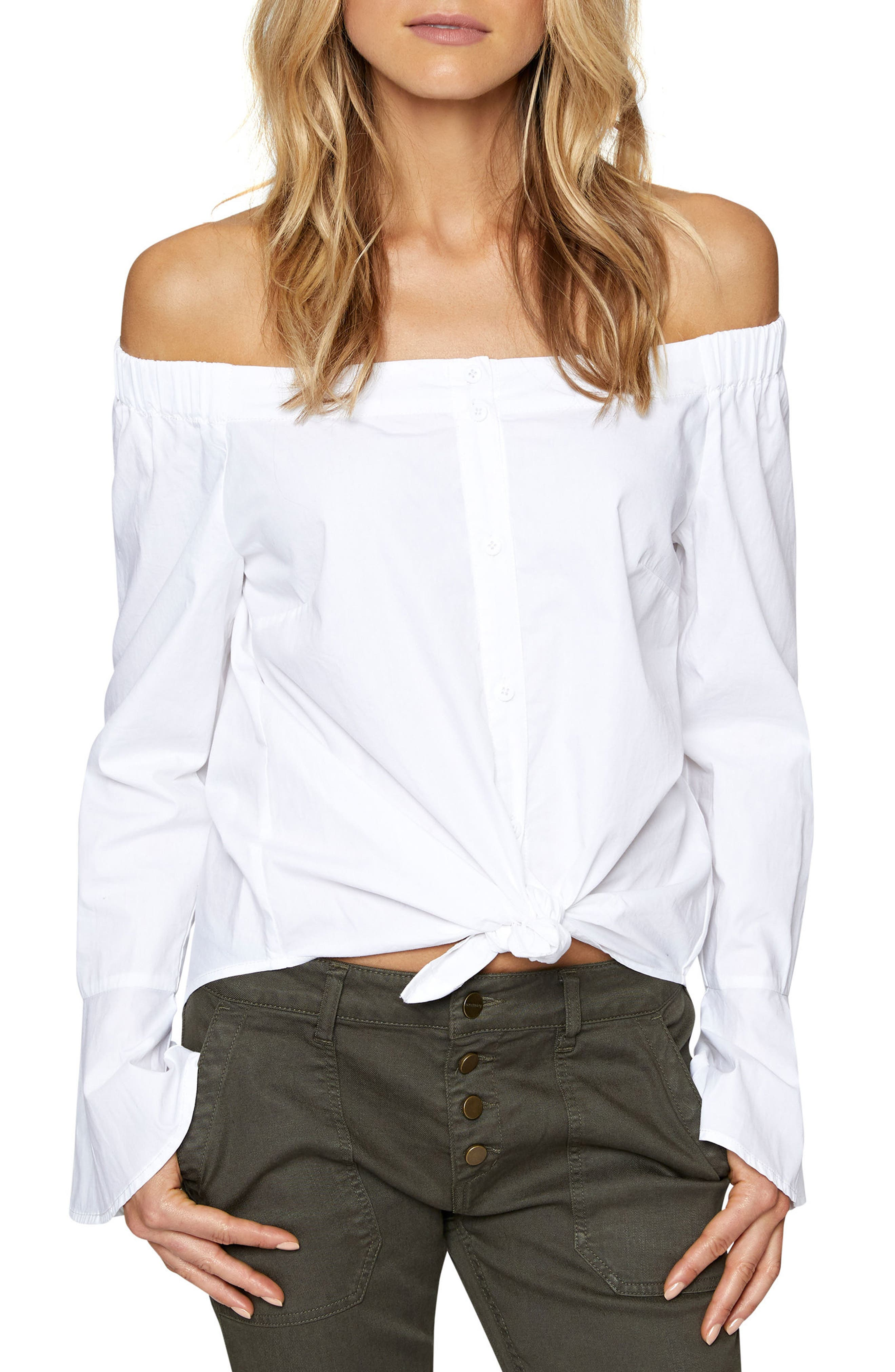 Abby Off the Shoulder Top,                             Main thumbnail 1, color,                             114