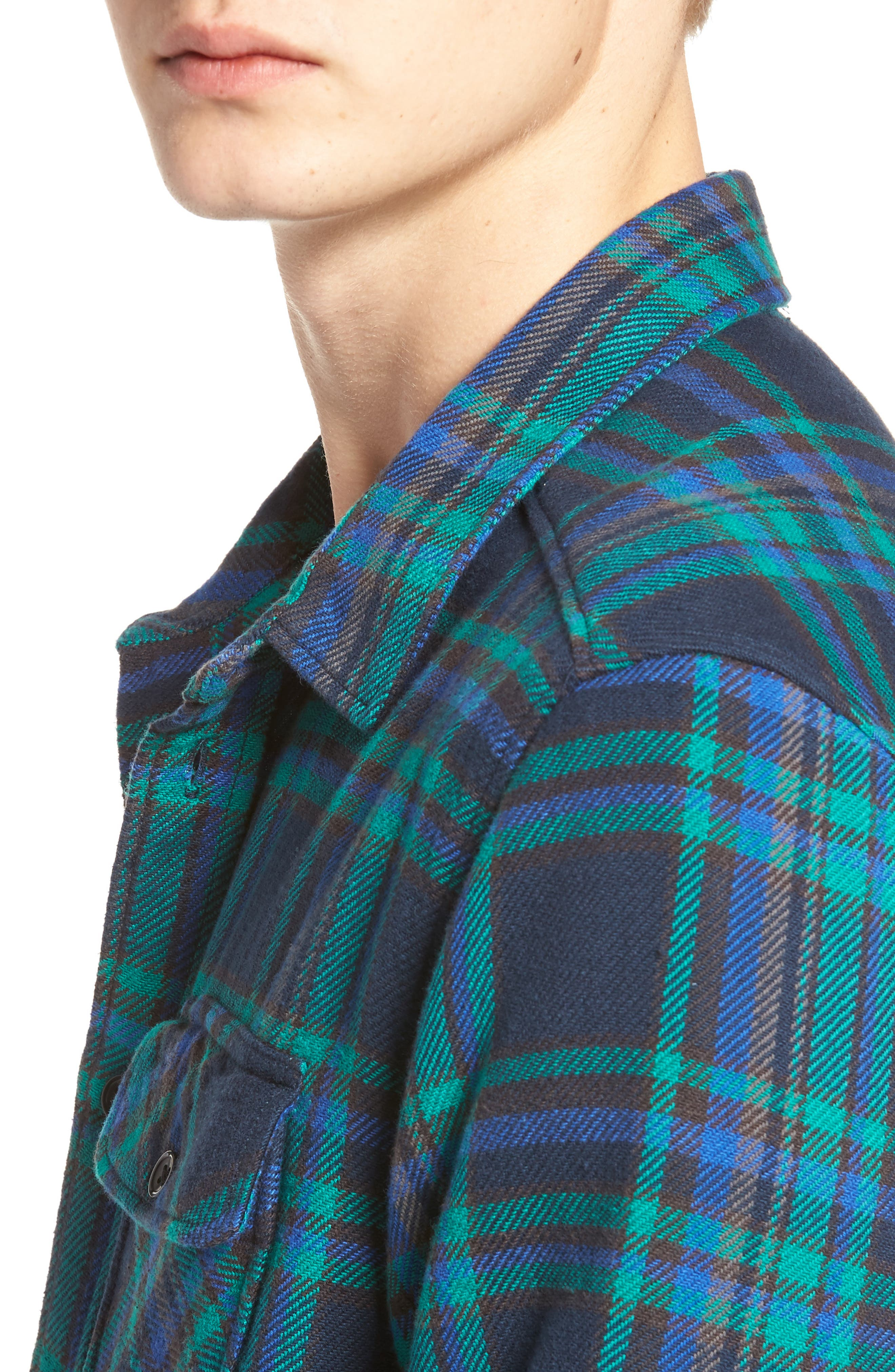 Camino Flannel Shirt,                             Alternate thumbnail 12, color,